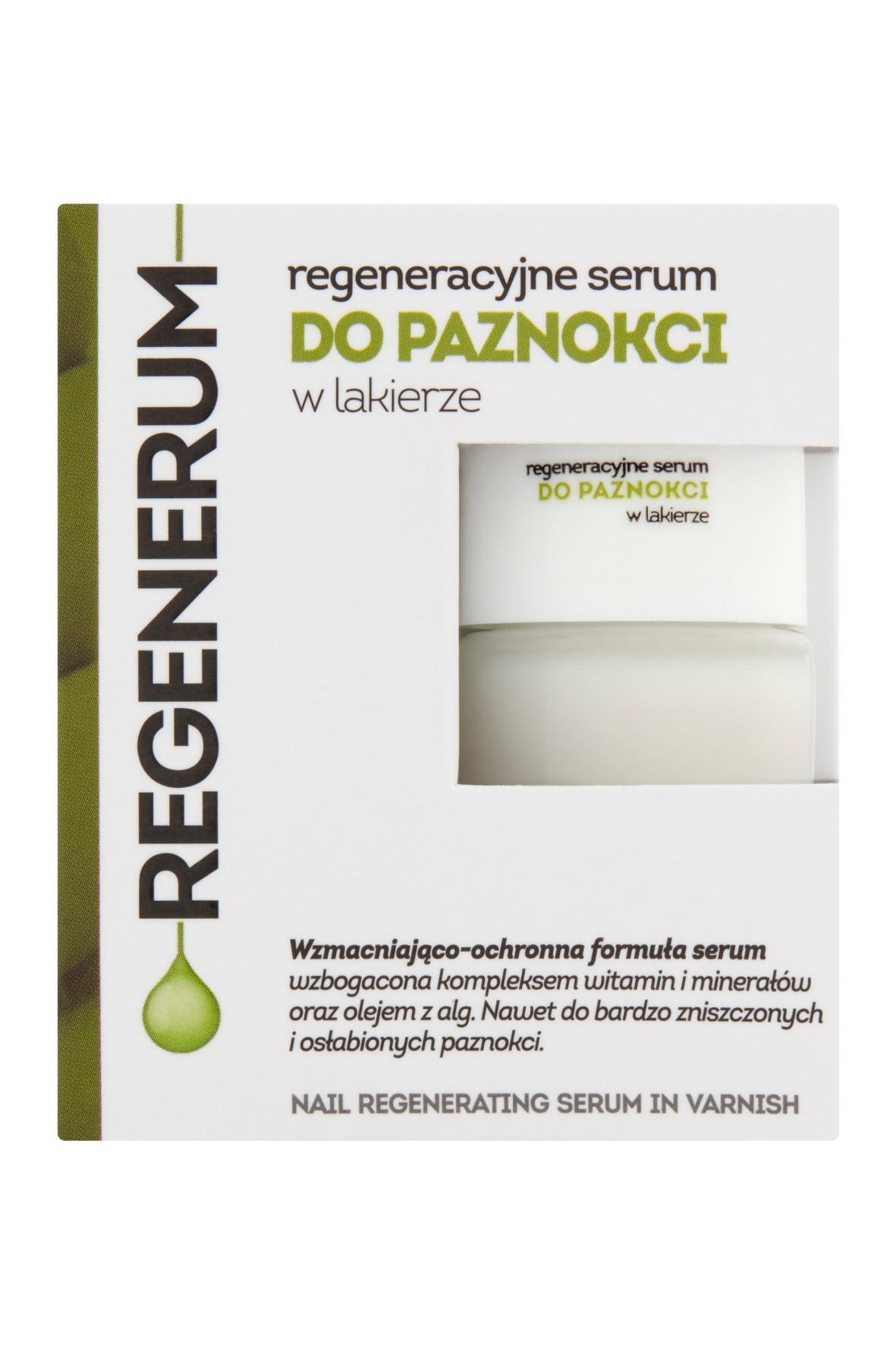 Regenerum Regeneracyjne serum do paznokci w lakierze 8 ml