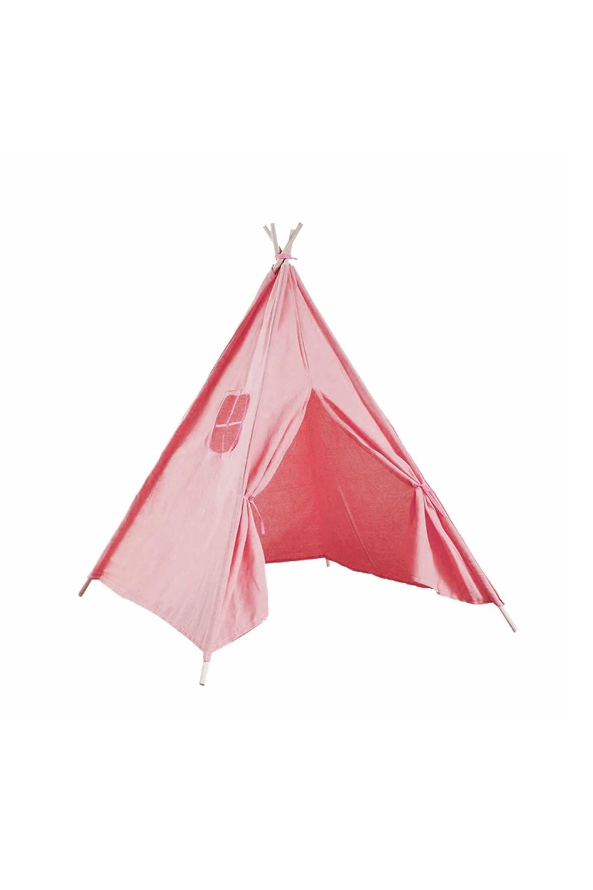 Namiot domek Teepee różowy 120x120x160cm