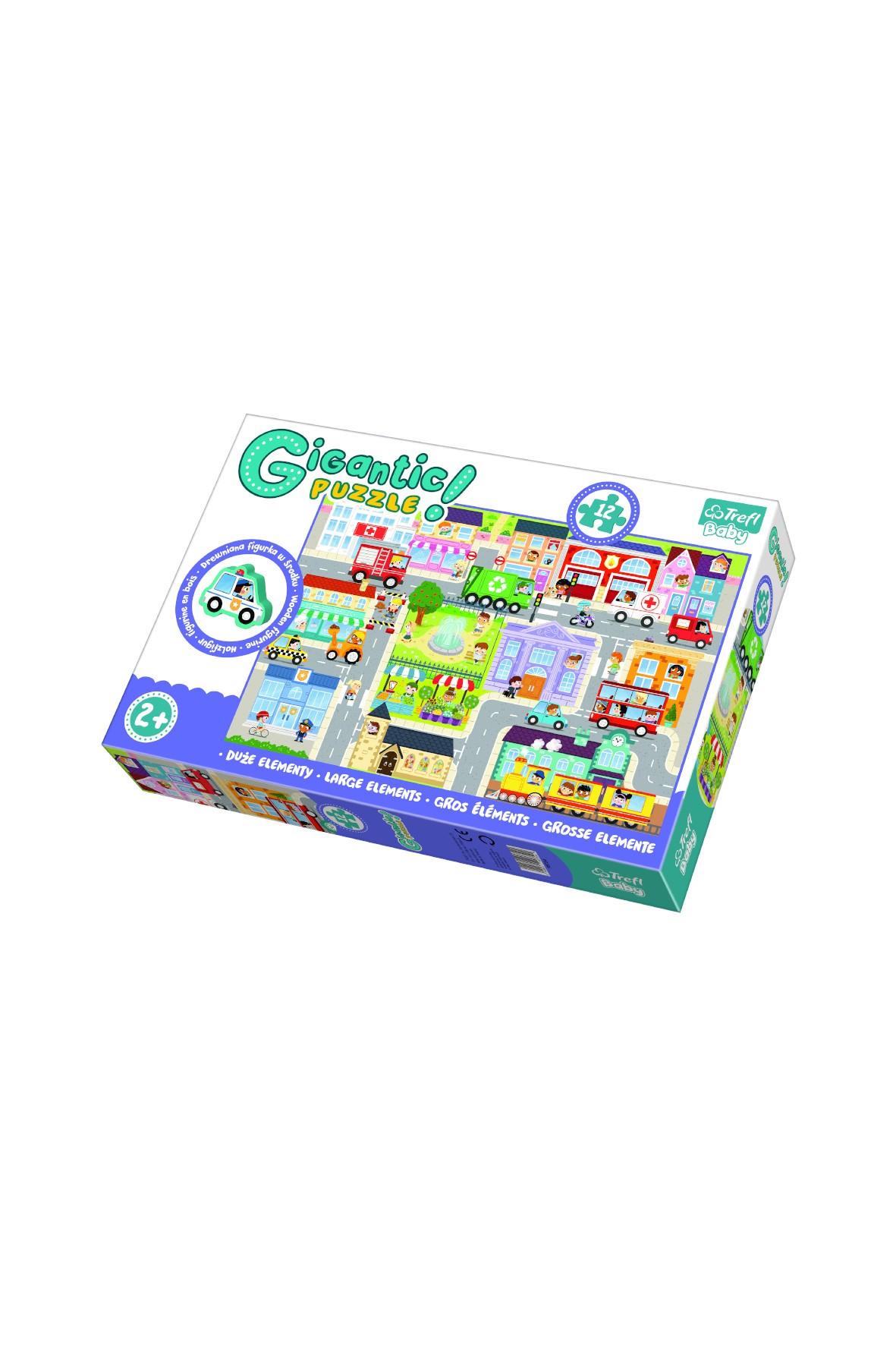 Puzzle Gigantic Miasto