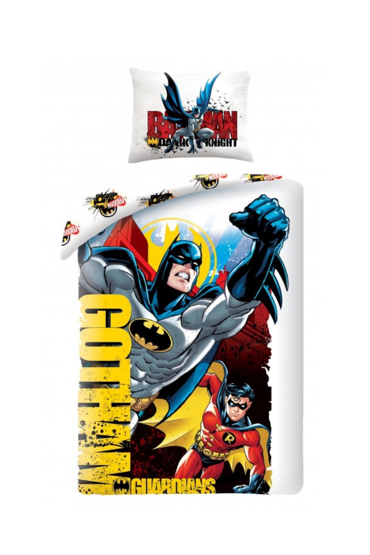 Pościel bawełniana Batman 140x200cm+70x90cm