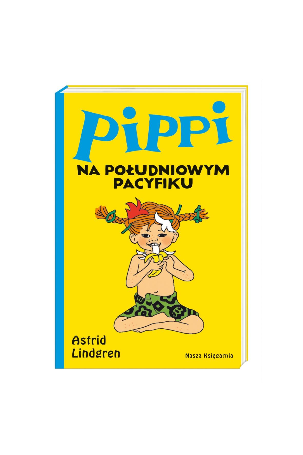 Książka dla dzieci- Pippi na Południowym Pacyfiku