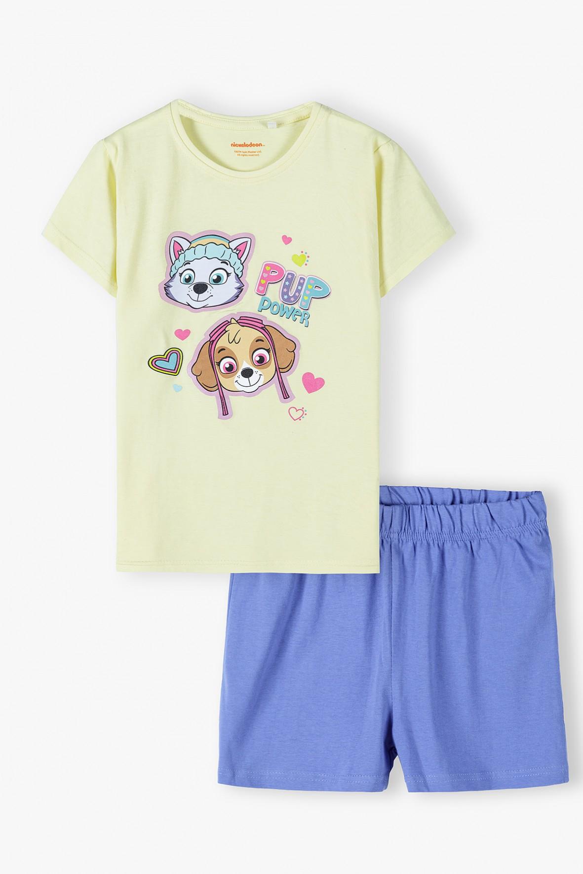 Psi Patrol bawełniana pidżama dziewczęca