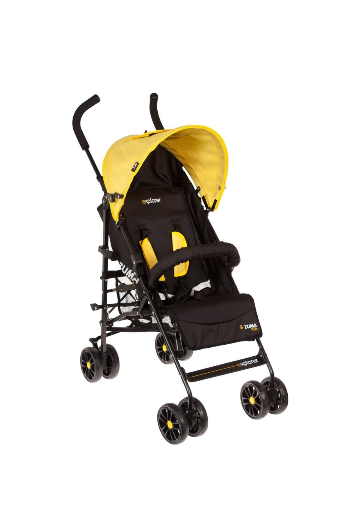 Wózek Spacerowy-Zuma Kids Explorer Żółty