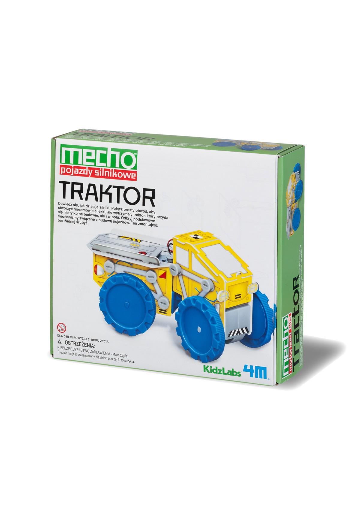 Pojazdy Silnikowe- Traktor