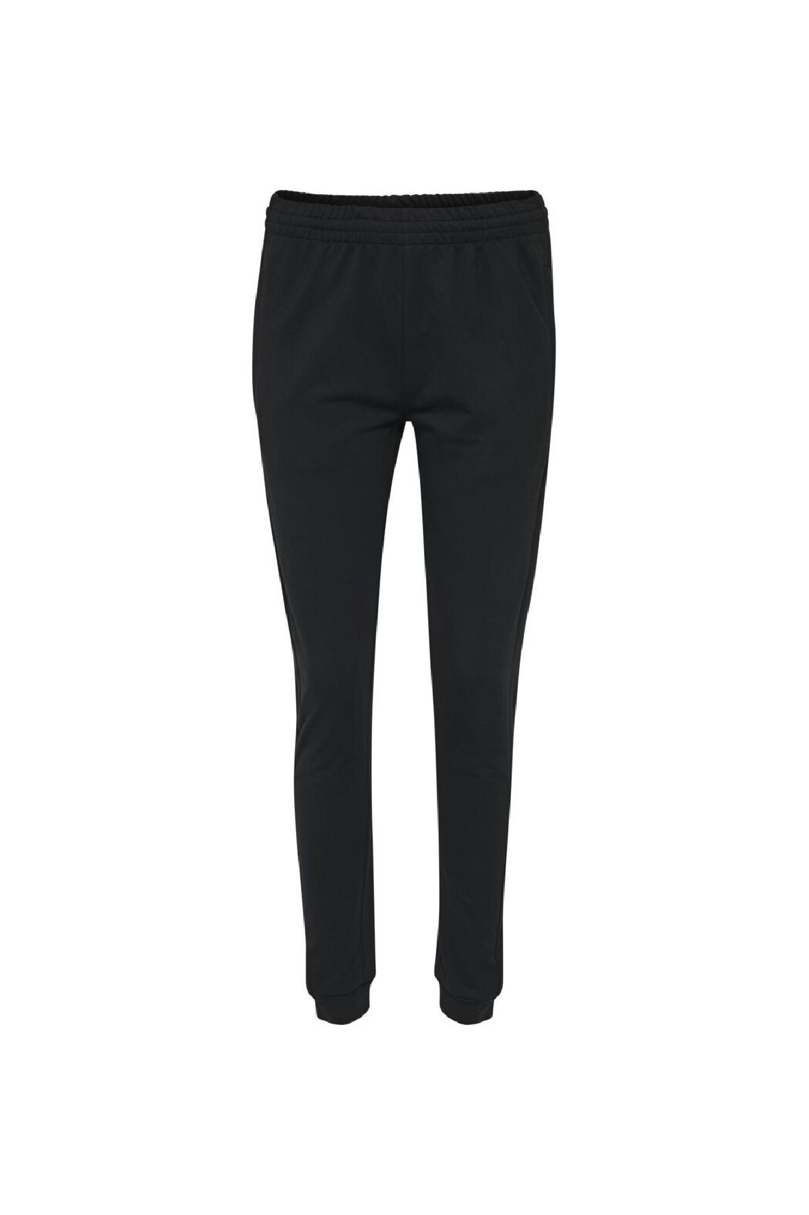 Damskie bawełniane spodnie sportowe Hummel