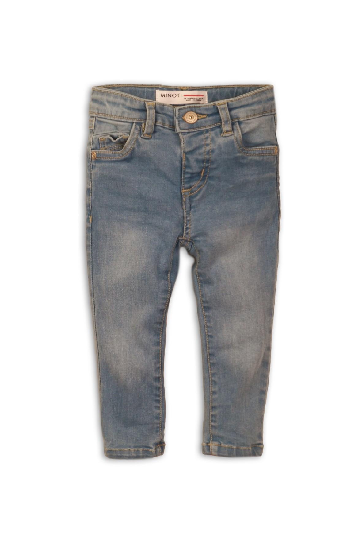 Spodnie jeansowe dziewczęce