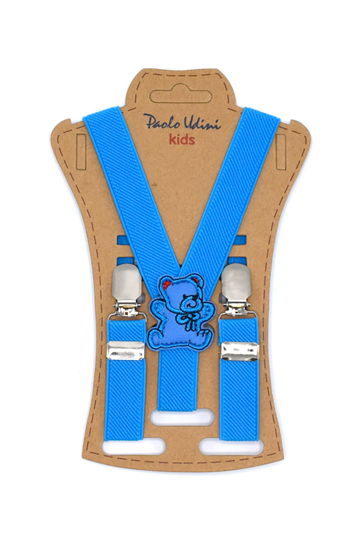 Szelki chłopięce do spodni 50 cm - niebieskie