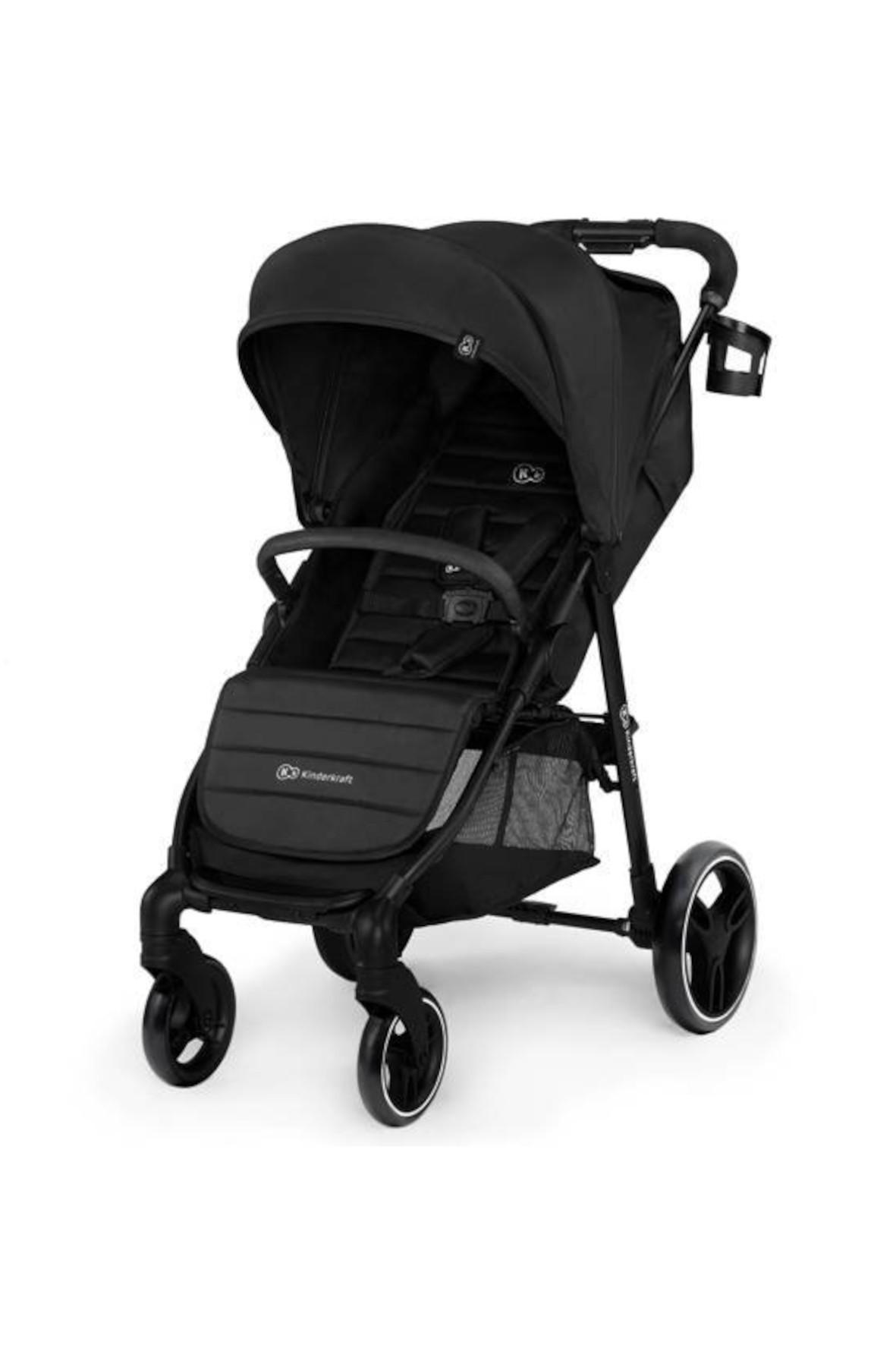 Kinderkraft wózek spacerowy Grande City czarny