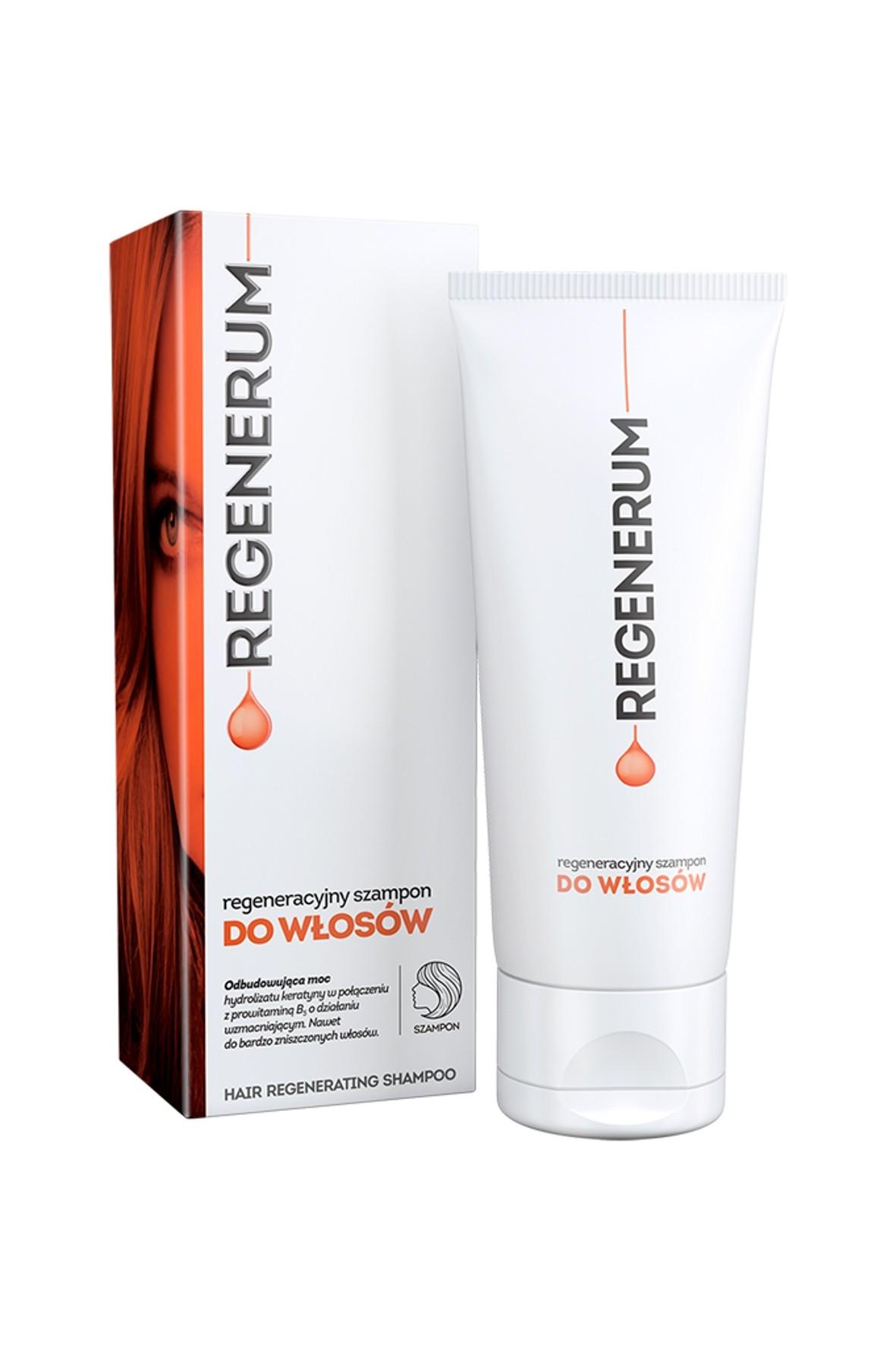 Regeneracyjny szampon do włosów zniszczonych Regenerum 150 ml