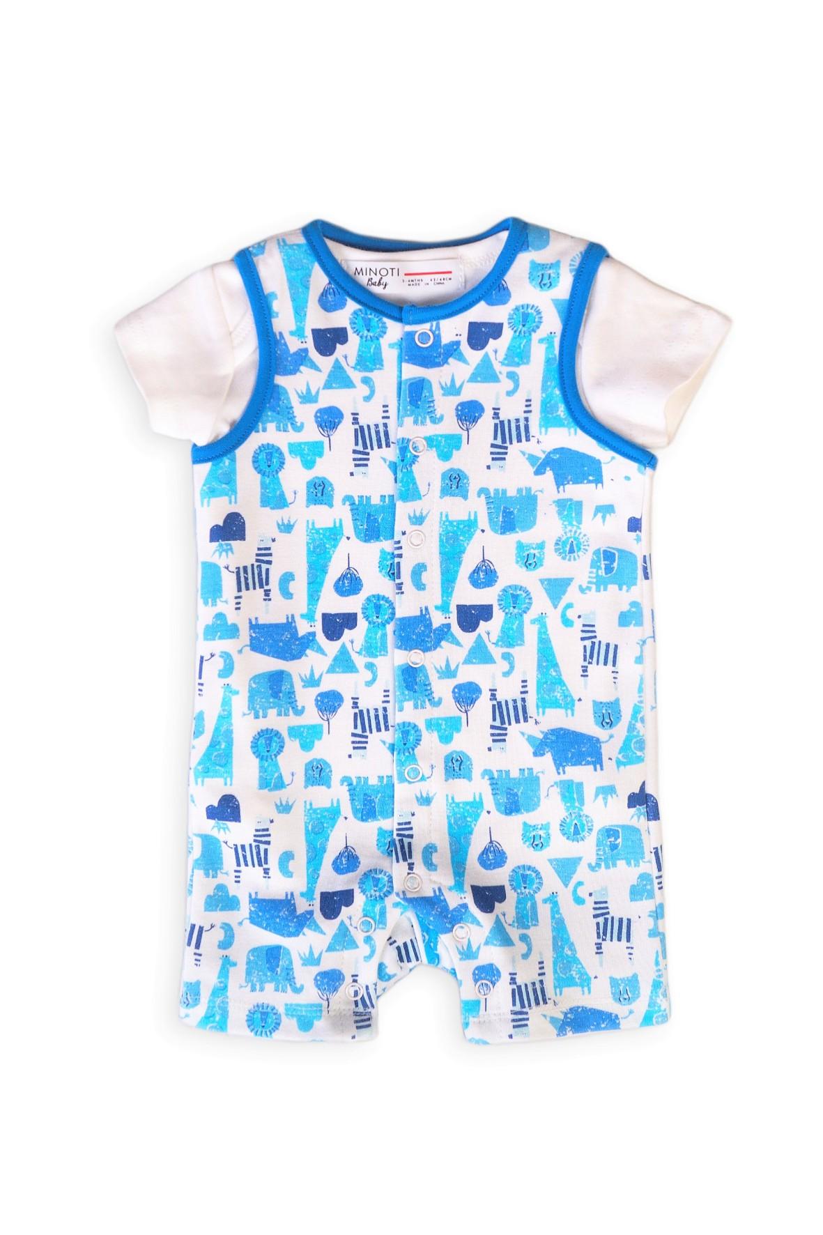 Rampers dla niemowlaka i bawełniane body