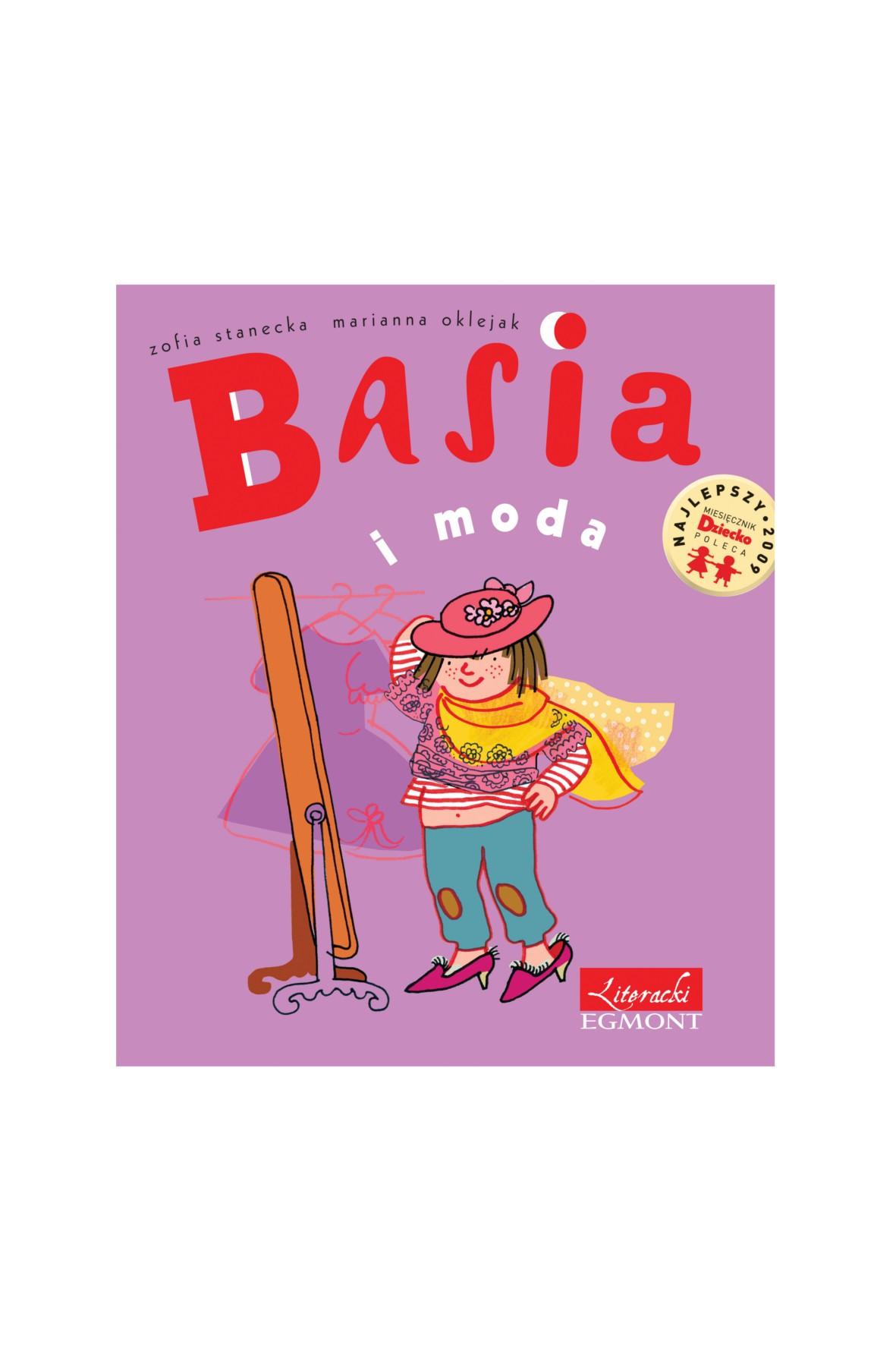 "Książka ""Basia i moda"""
