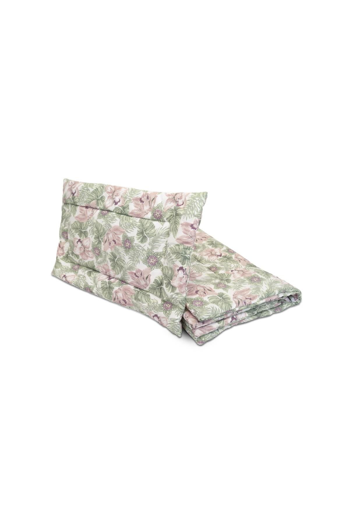 Pościel z wypełnieniem Pink flowers - 120x80 cm