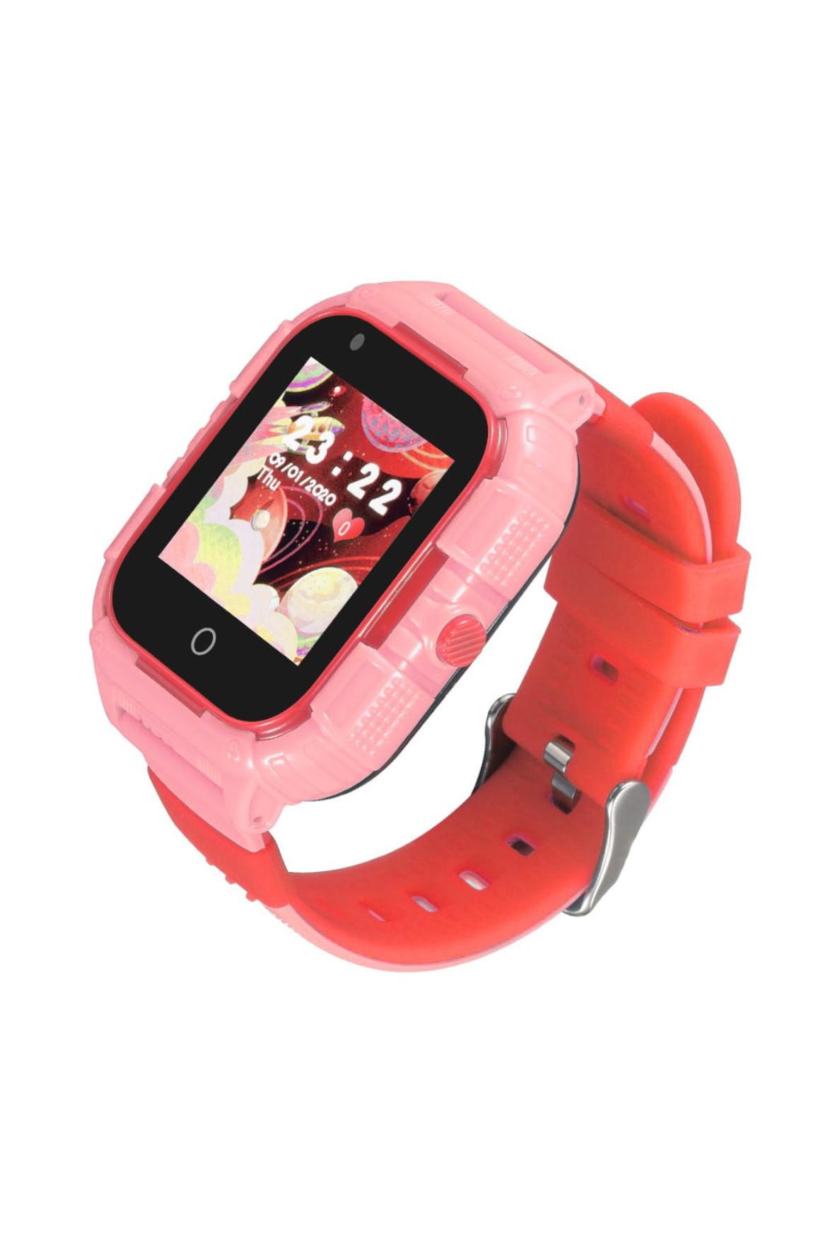 Smartwatch Garett Kids Protect 4G - różowy