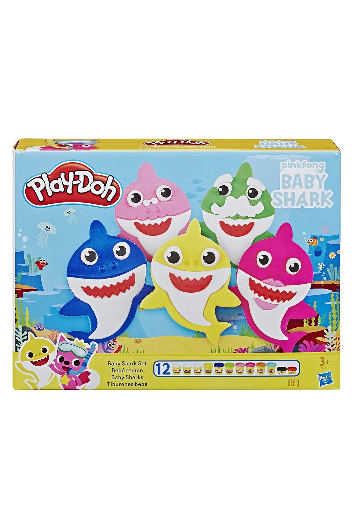 """Zestaw ciastoliny Play-doh """"Baby shark"""" 3+"""