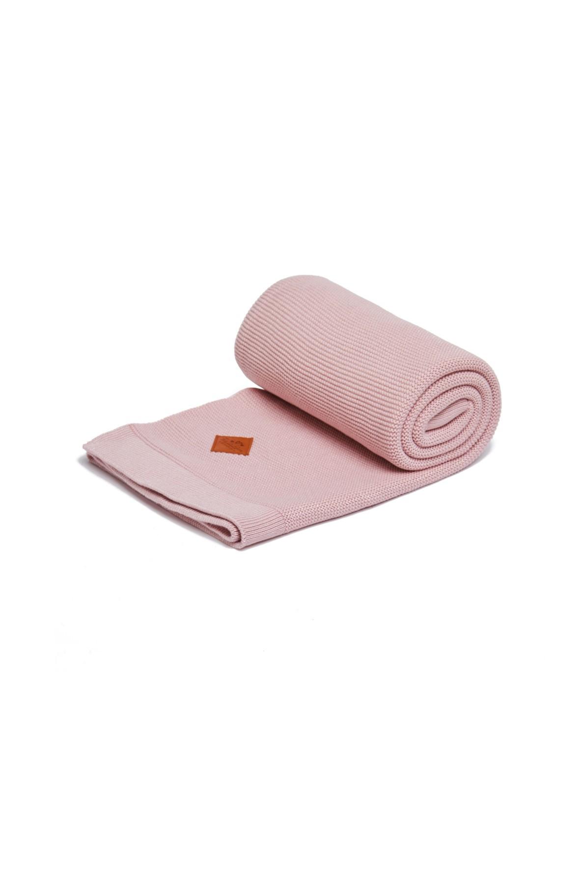 Kocyk różowy 80×100 cm