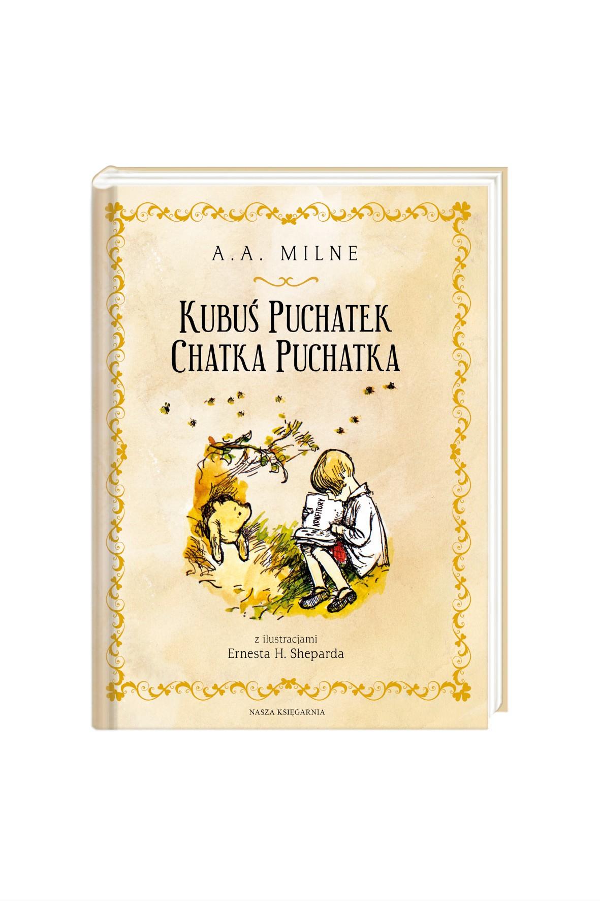 Kubuś Puchatek-Chatka Puchatka- Książka dla dzieci