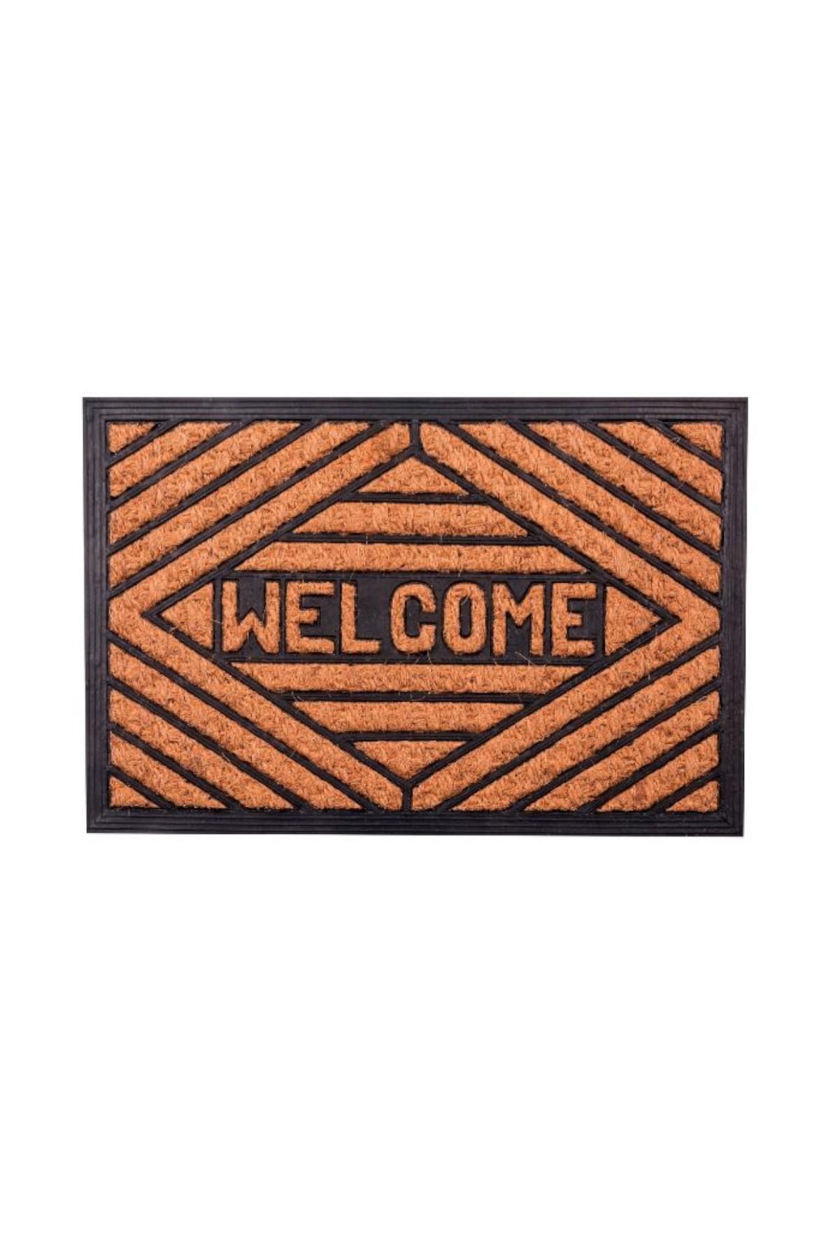 Wycieraczka prostokątna AD Trend-  Welcome 60×40 cm
