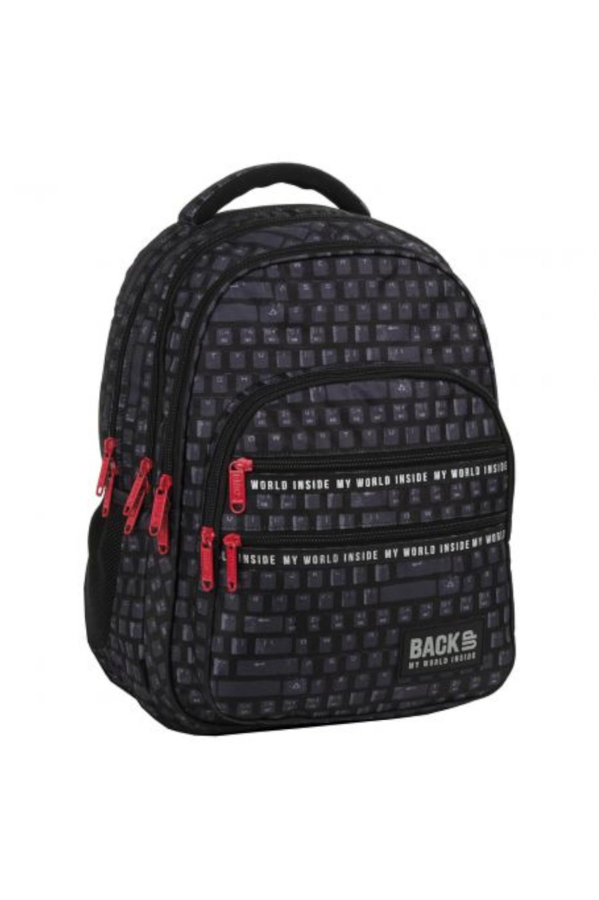 Plecak dla chłopca BackUp Klawiatura