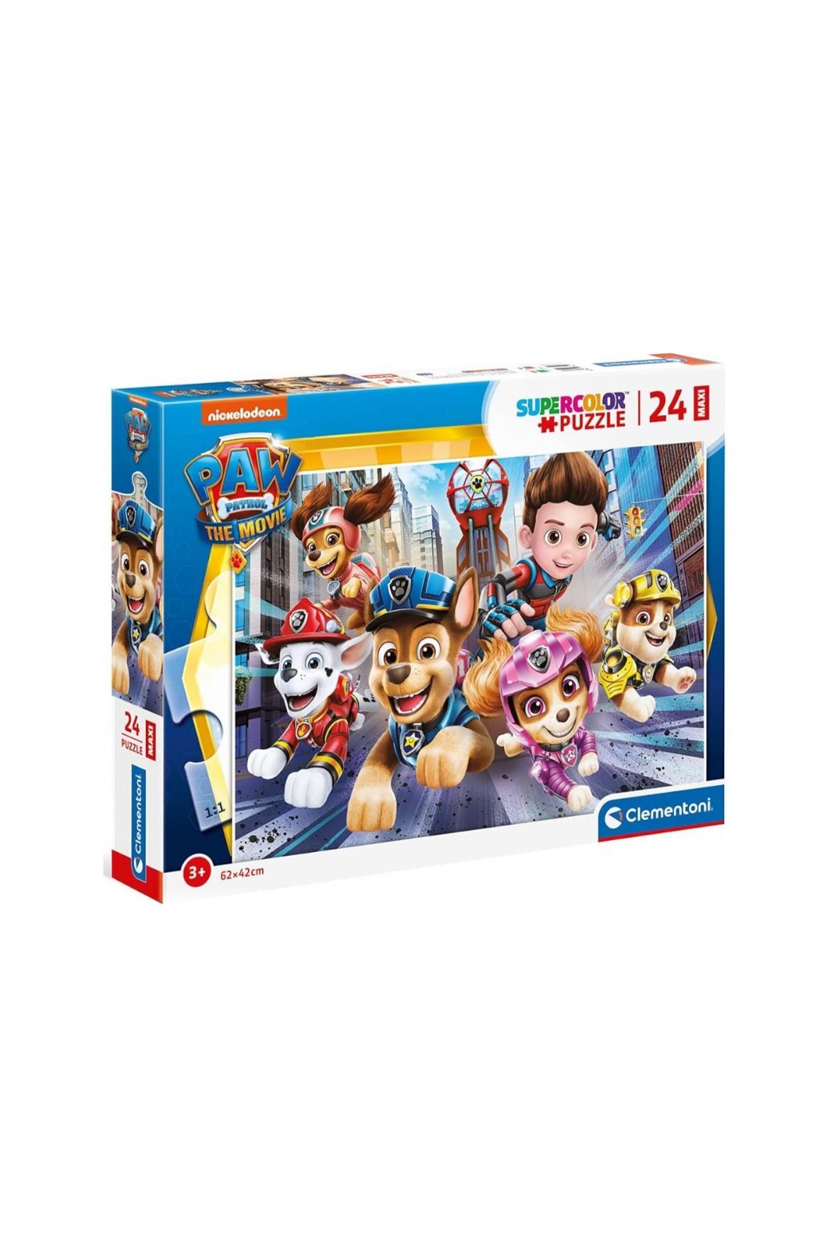 Puzzle Clementoni maxi super kolor Psi patrol -24 elementy