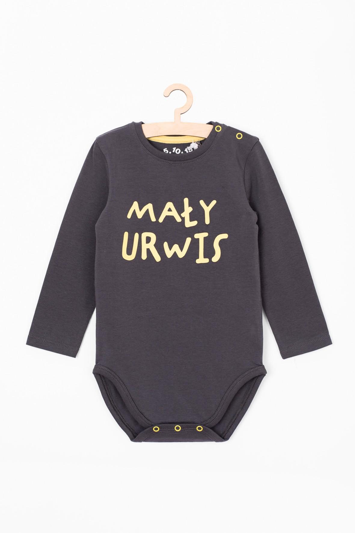 Body niemowlęce z napisem - Mały urwis