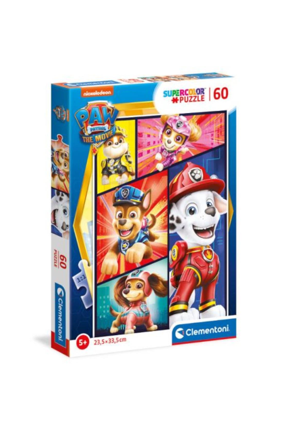 Puzzle super kolor Psi Patrol - 60 el wiek 5+