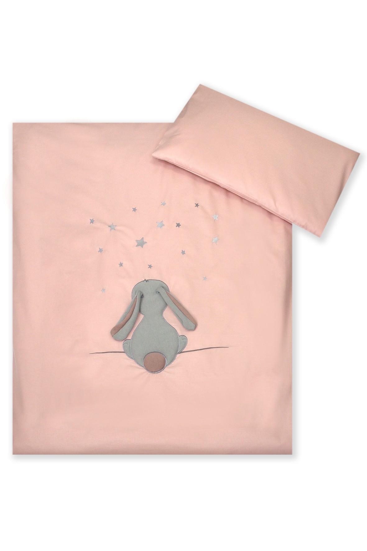 Pościel dla dzieci Amy 2-elementowa Fluffy rose 135x100cm