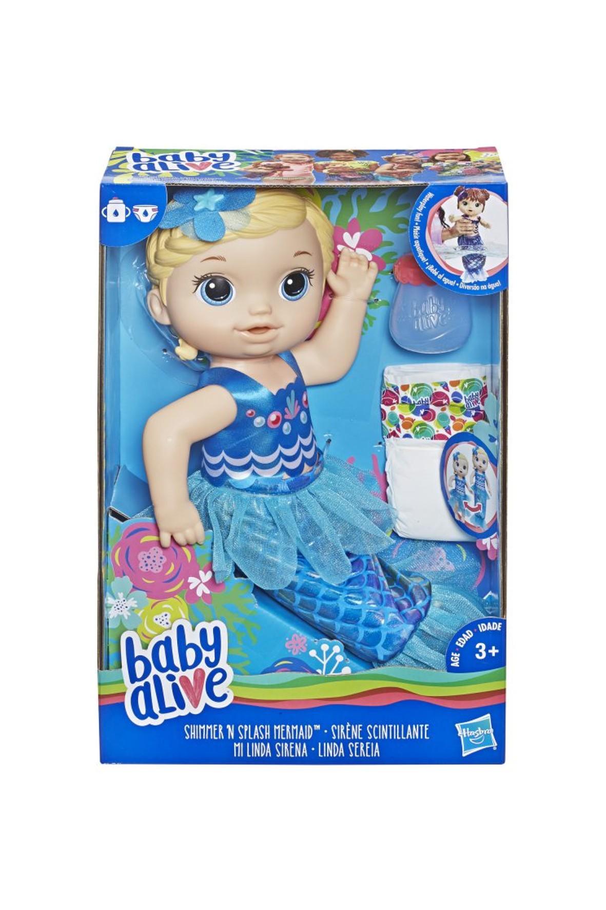 Lala Migocząca Syrenka - Blondynka Baby Alive  3+