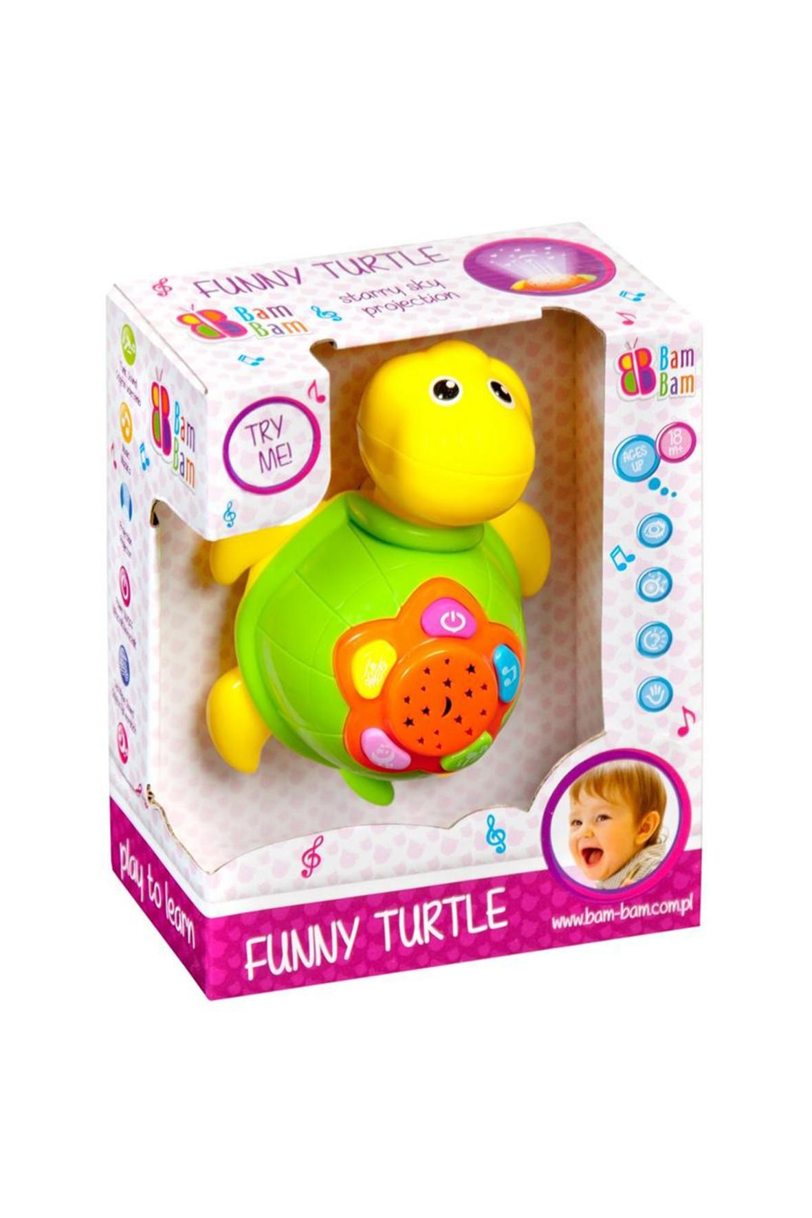 Bam Bam Muzyczna zabawka żółw wiek 18msc+