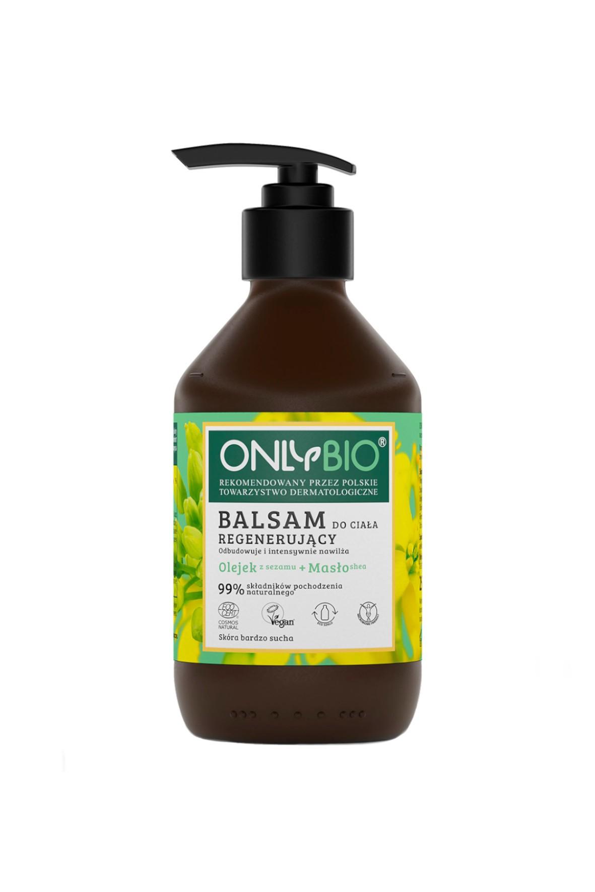 Balsam do ciała regenerujący OnlyBio 250ml