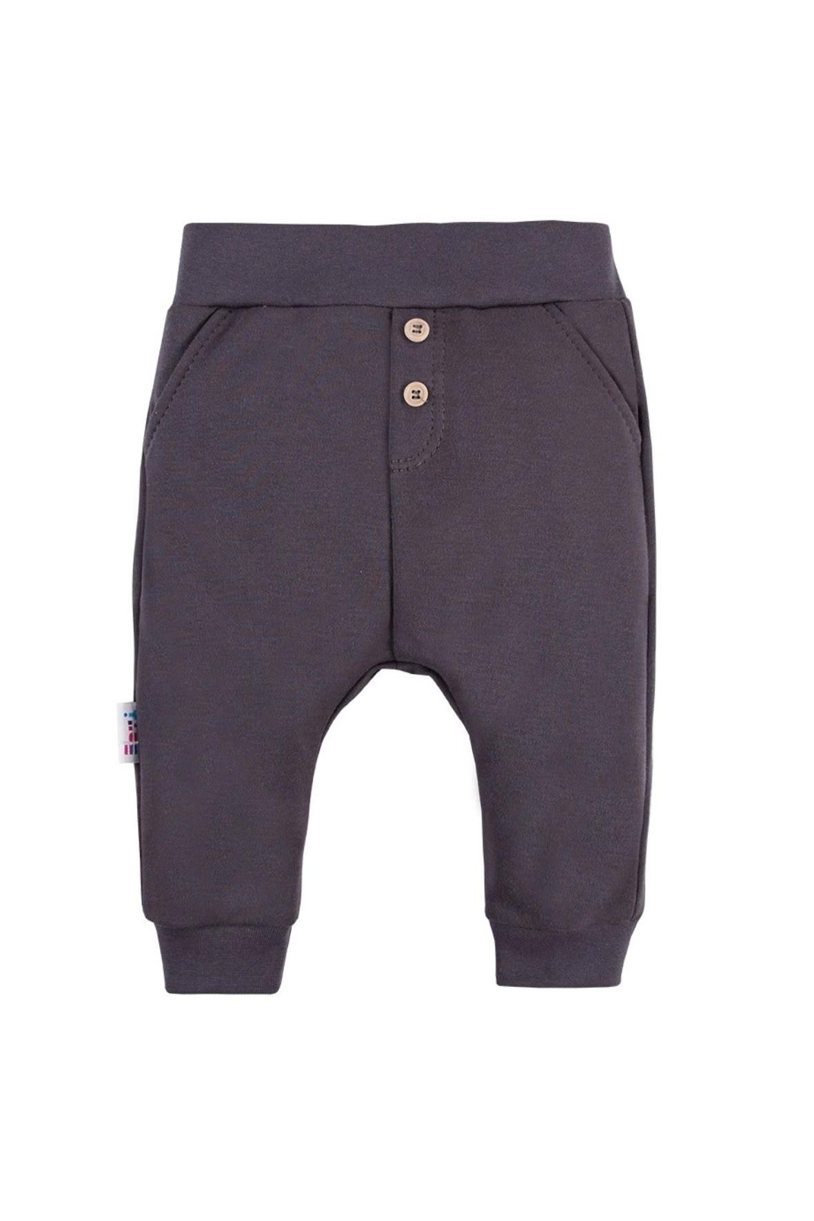 Spodnie dresowe LAZY DAYS grafitowe