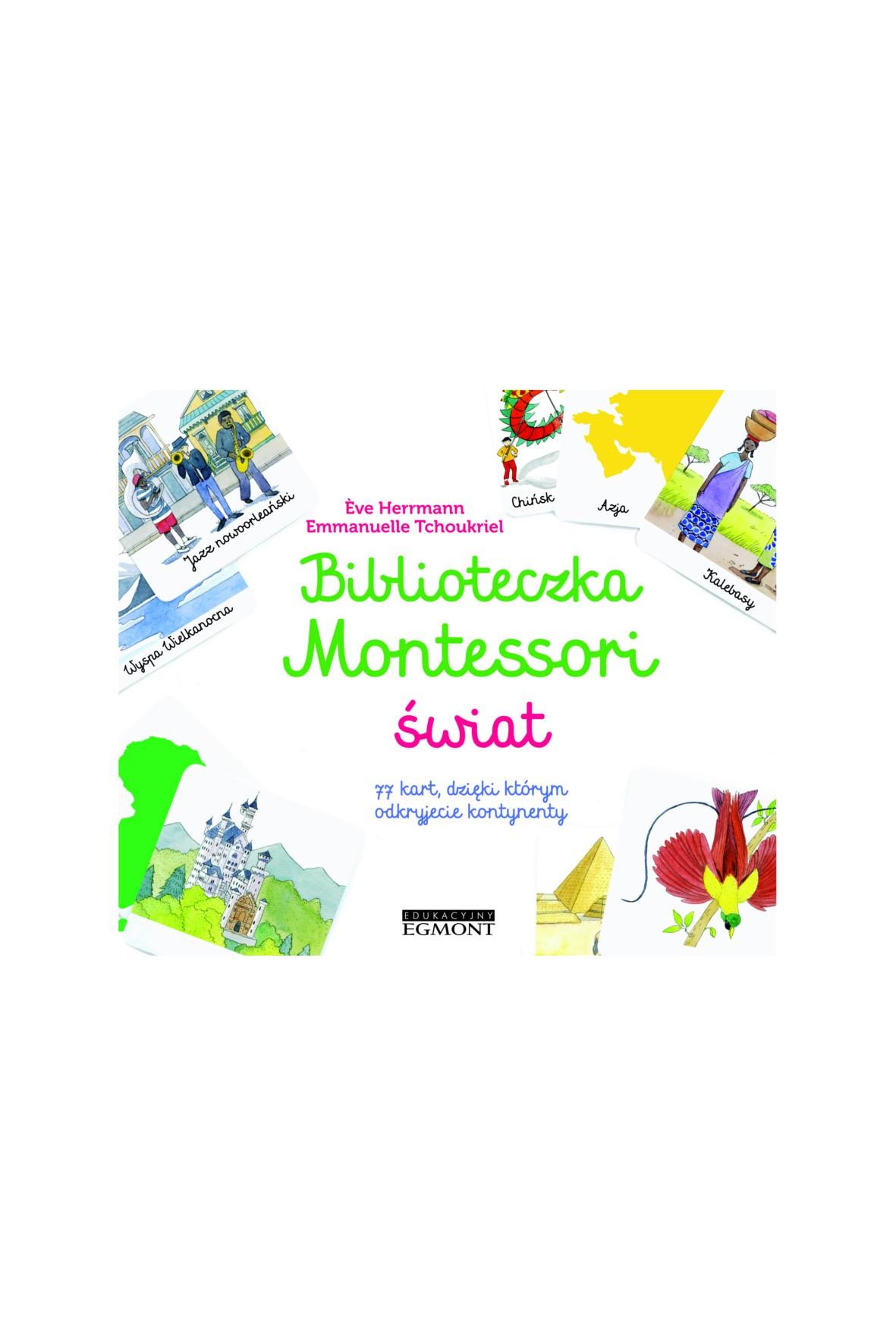 Biblioteczka Montessori. Świat