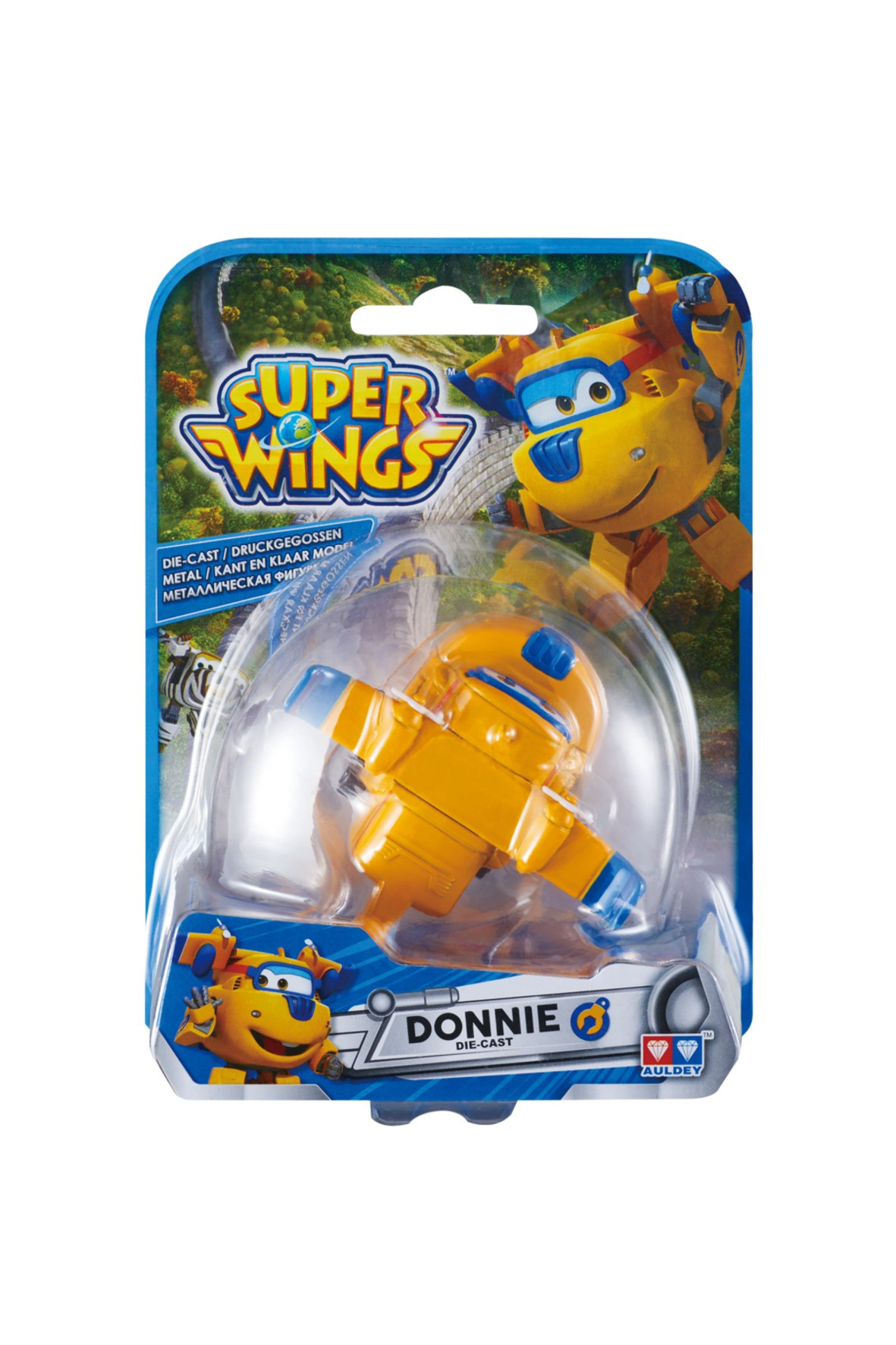 Super Wings samolot Donnie