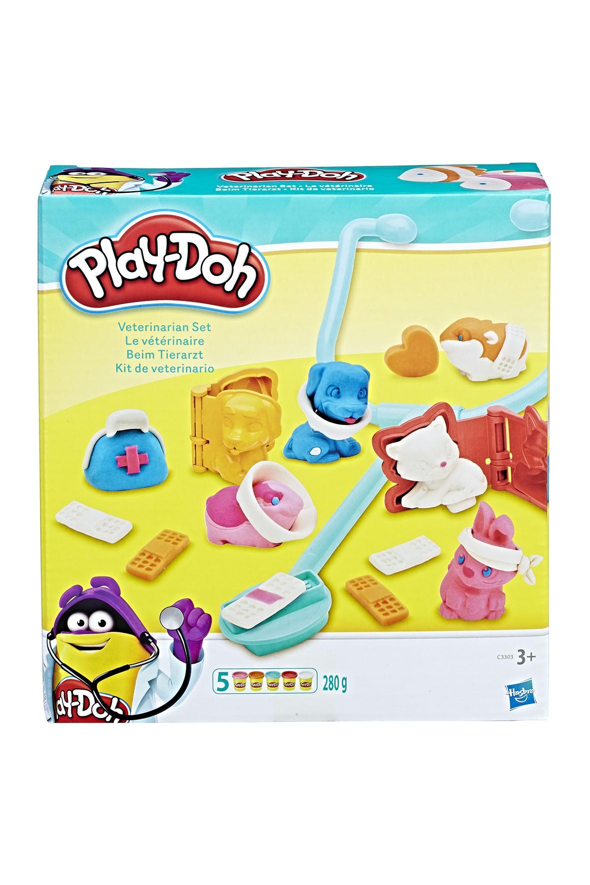 """Zestaw ciastoliny Play-doh """"Weterynarz"""" 3+"""