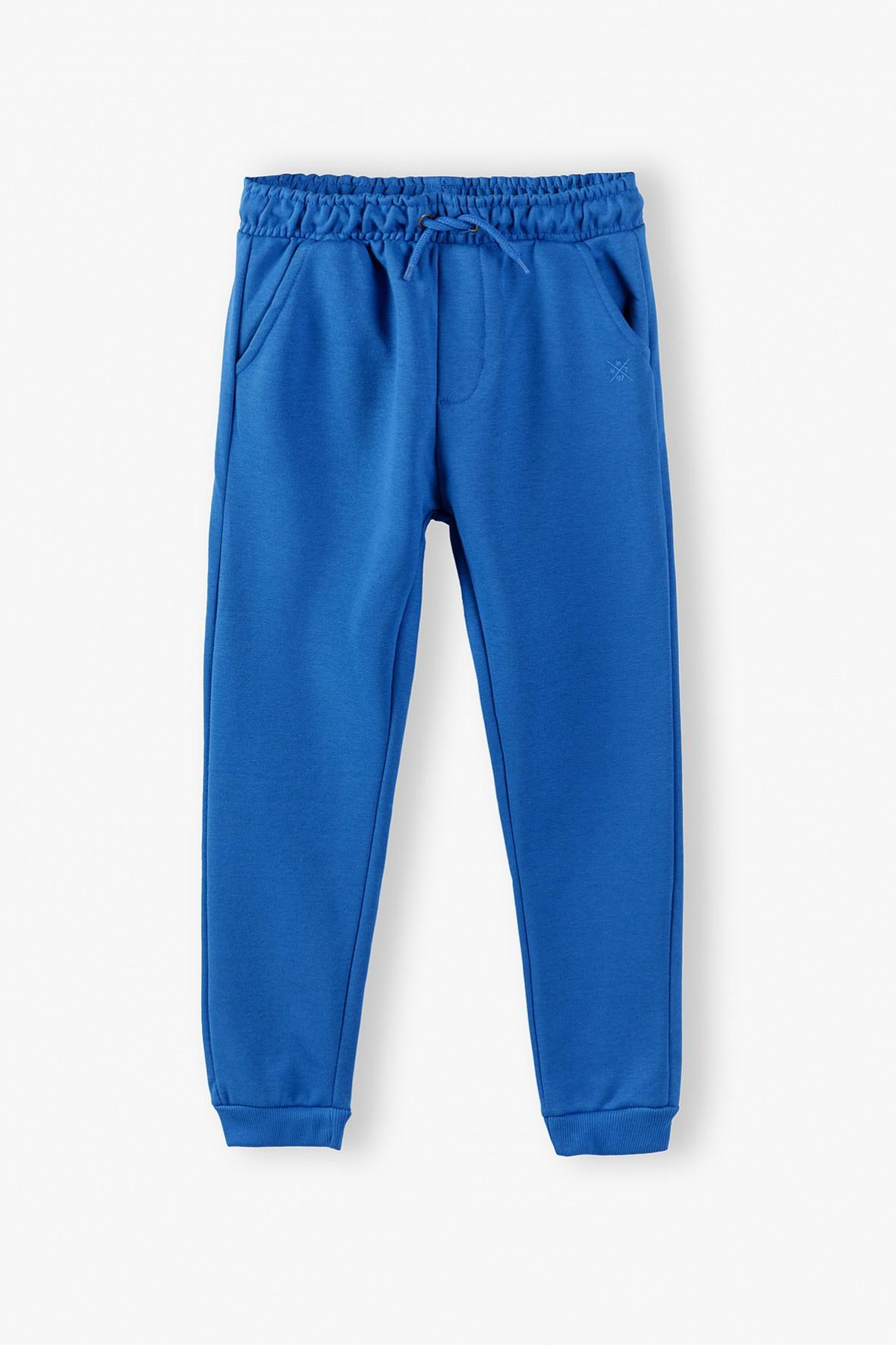 Spodnie dresowe chłopięce- niebieskie