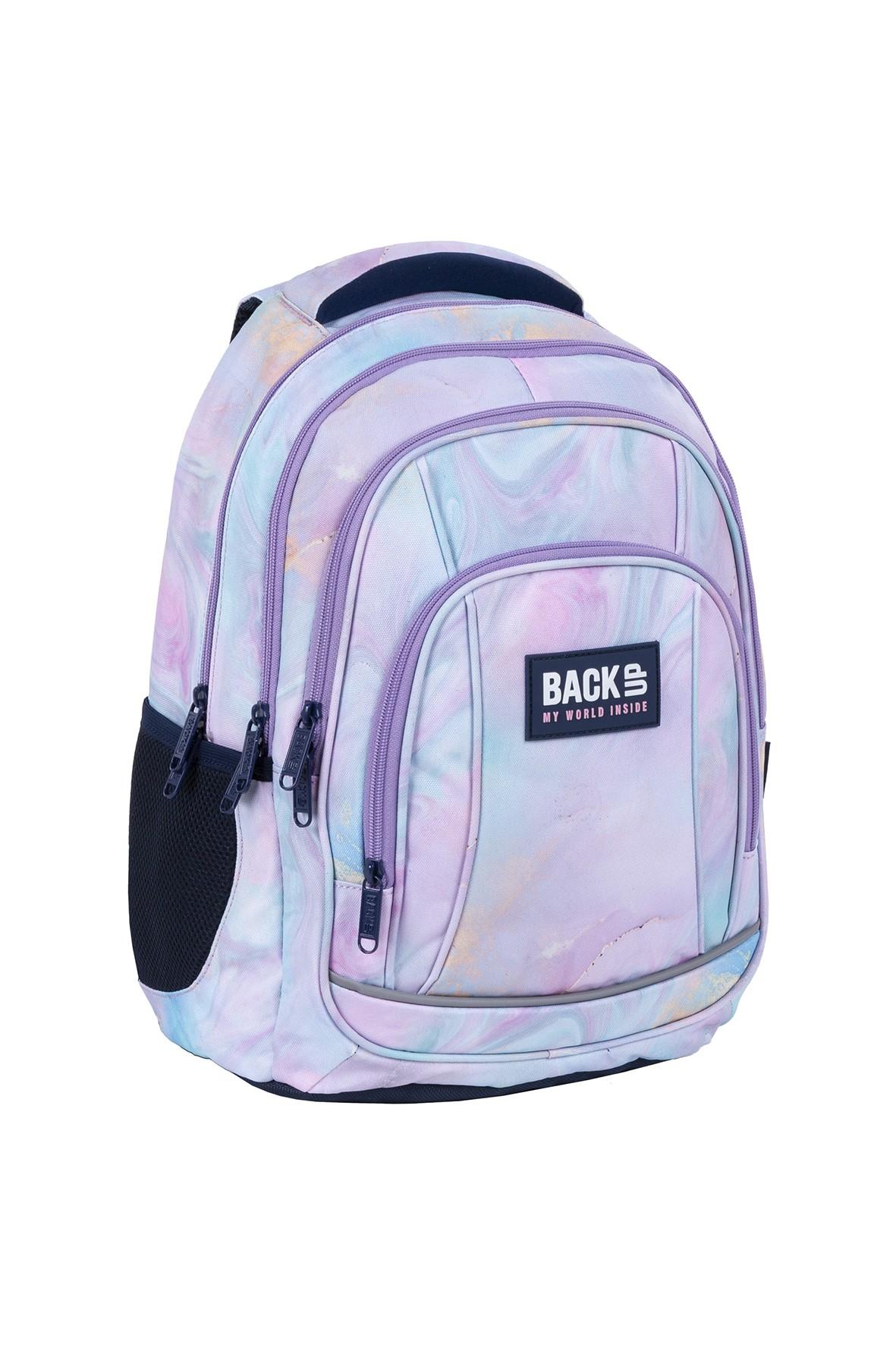 Plecak BackUp dziewczęcy pastelowy