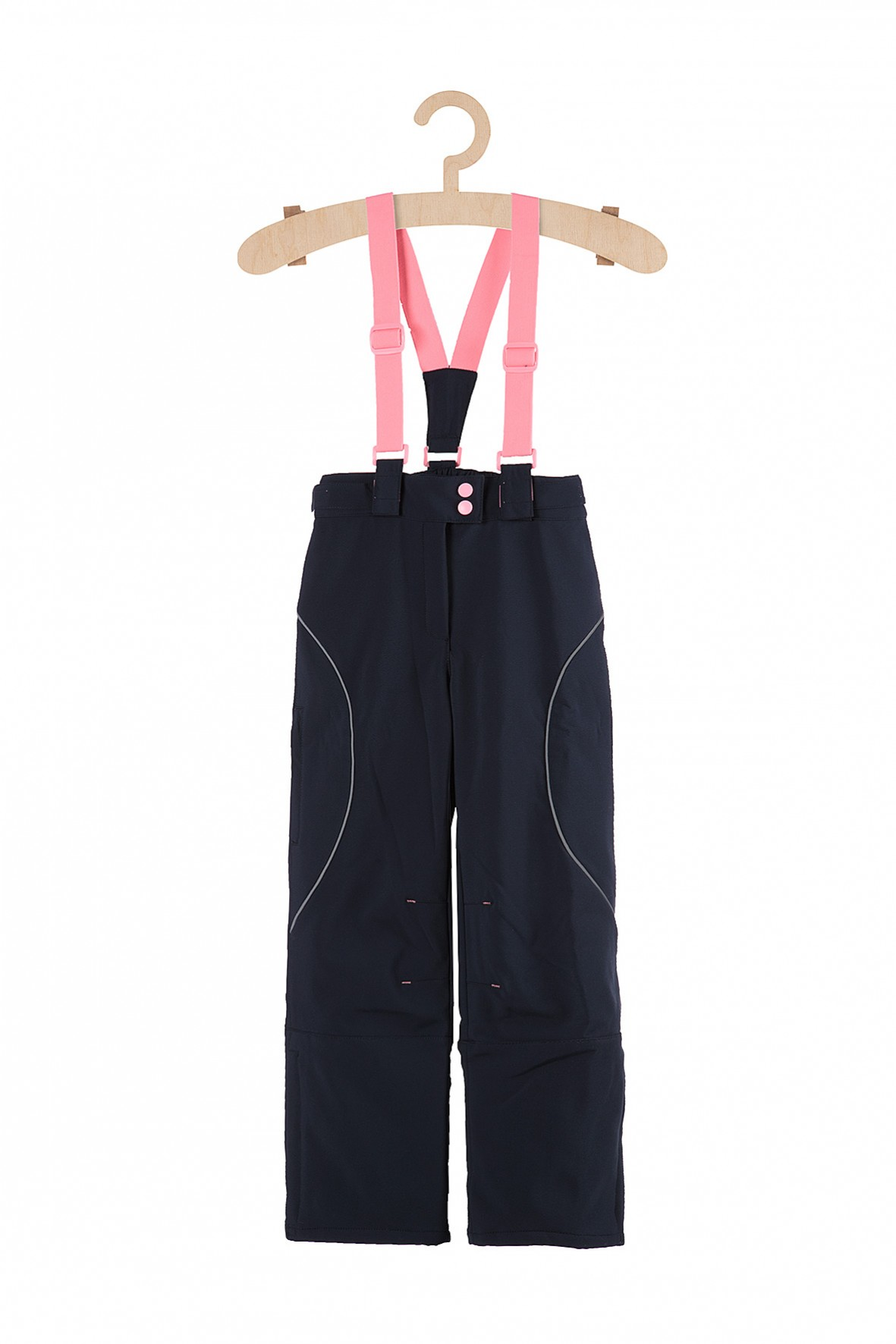 Spodnie narciarskie dla dziewczynki- granatowe