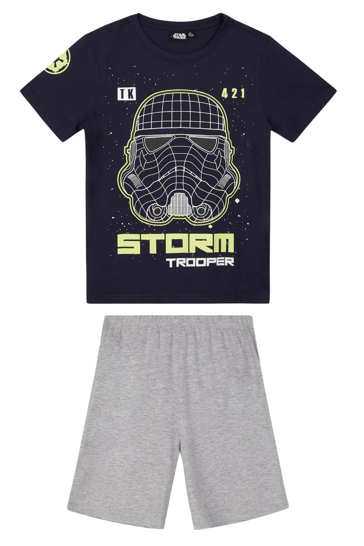 Piżama chłopięca Star Wars- koszulka i spodenki