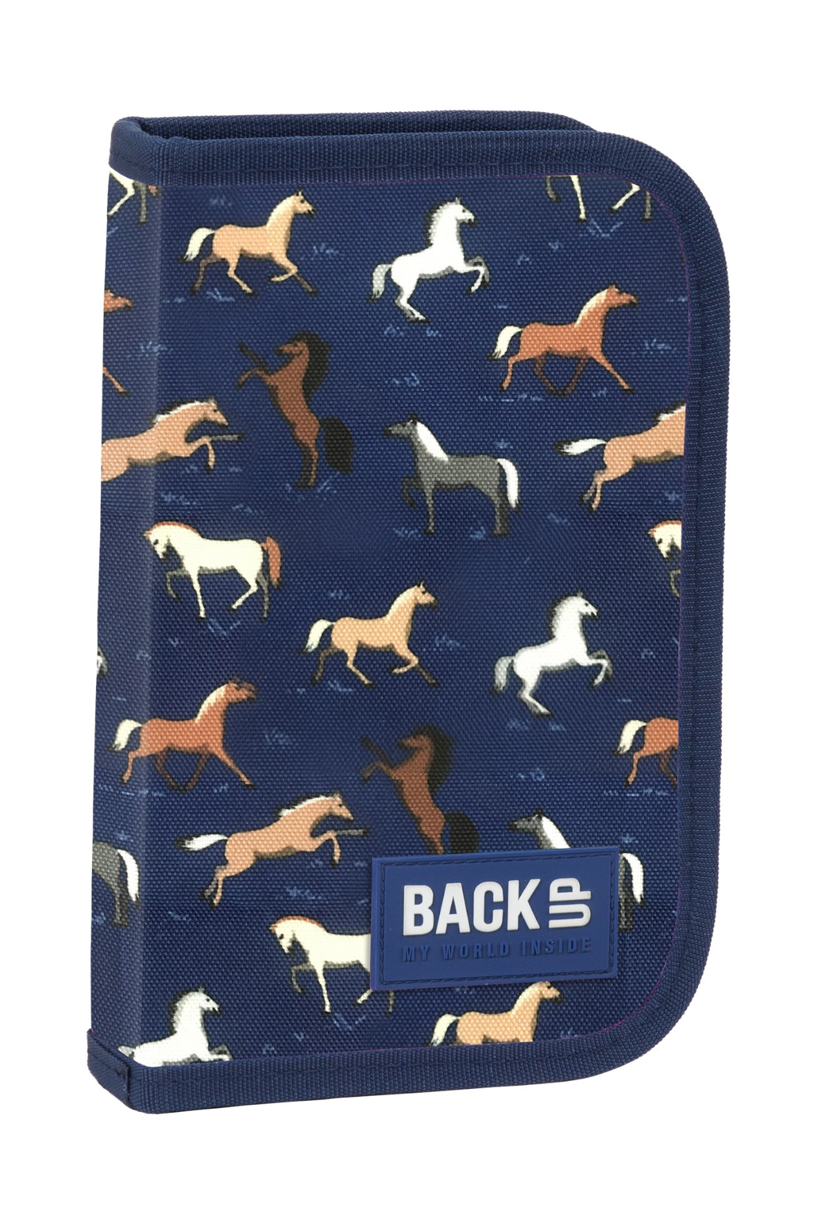 Piórnik BackUp 3 bez wyposażenia - konie