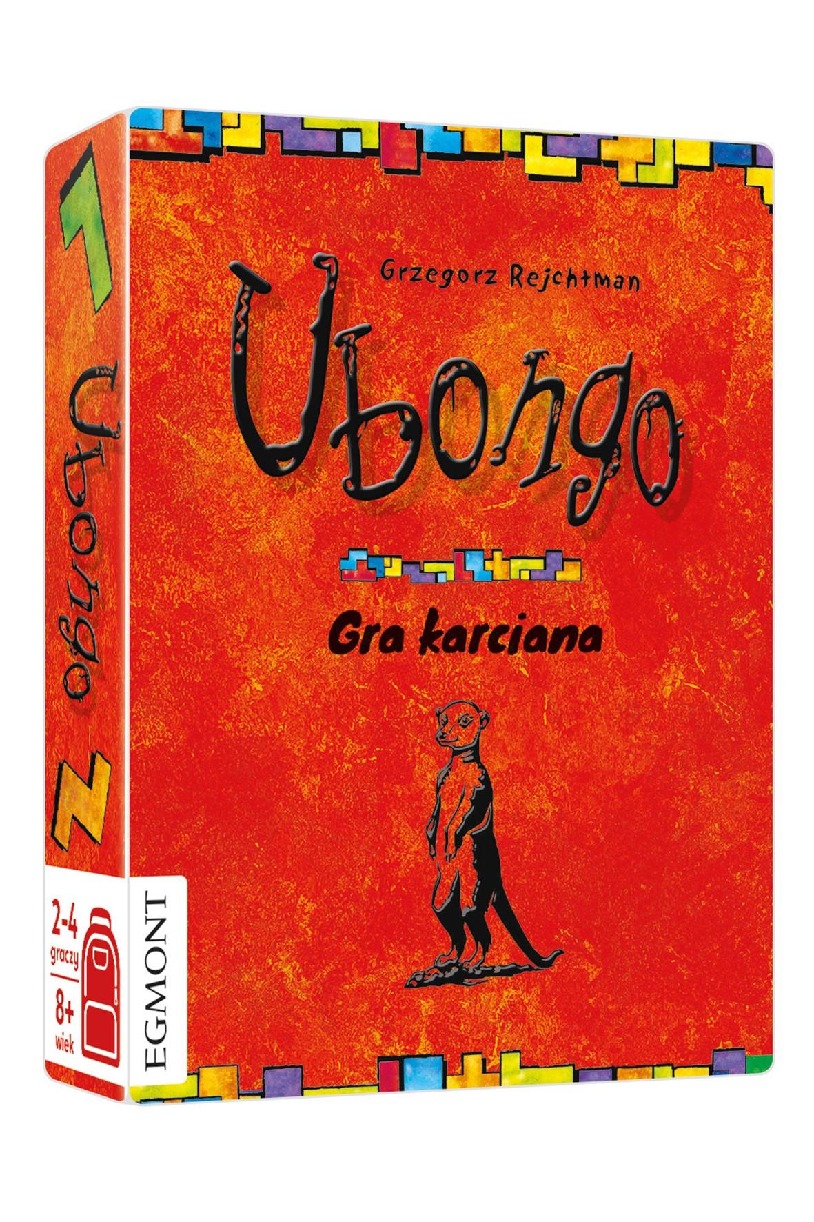 Gry dziecięce  - Ubongo karciane Gry do plecaka wiek 8+