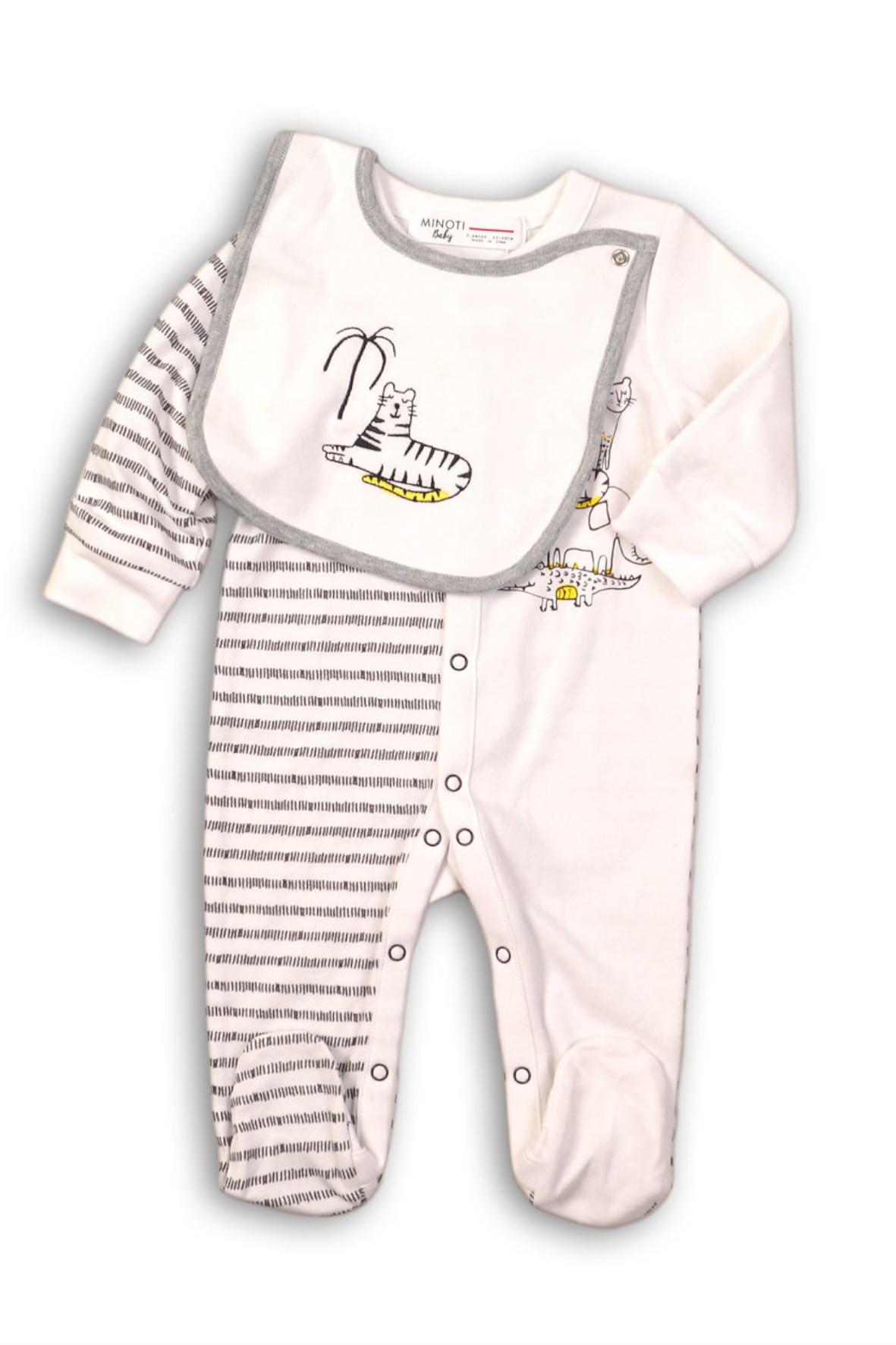 Pajac i śliniak-zestaw bielizny dla niemowlaka