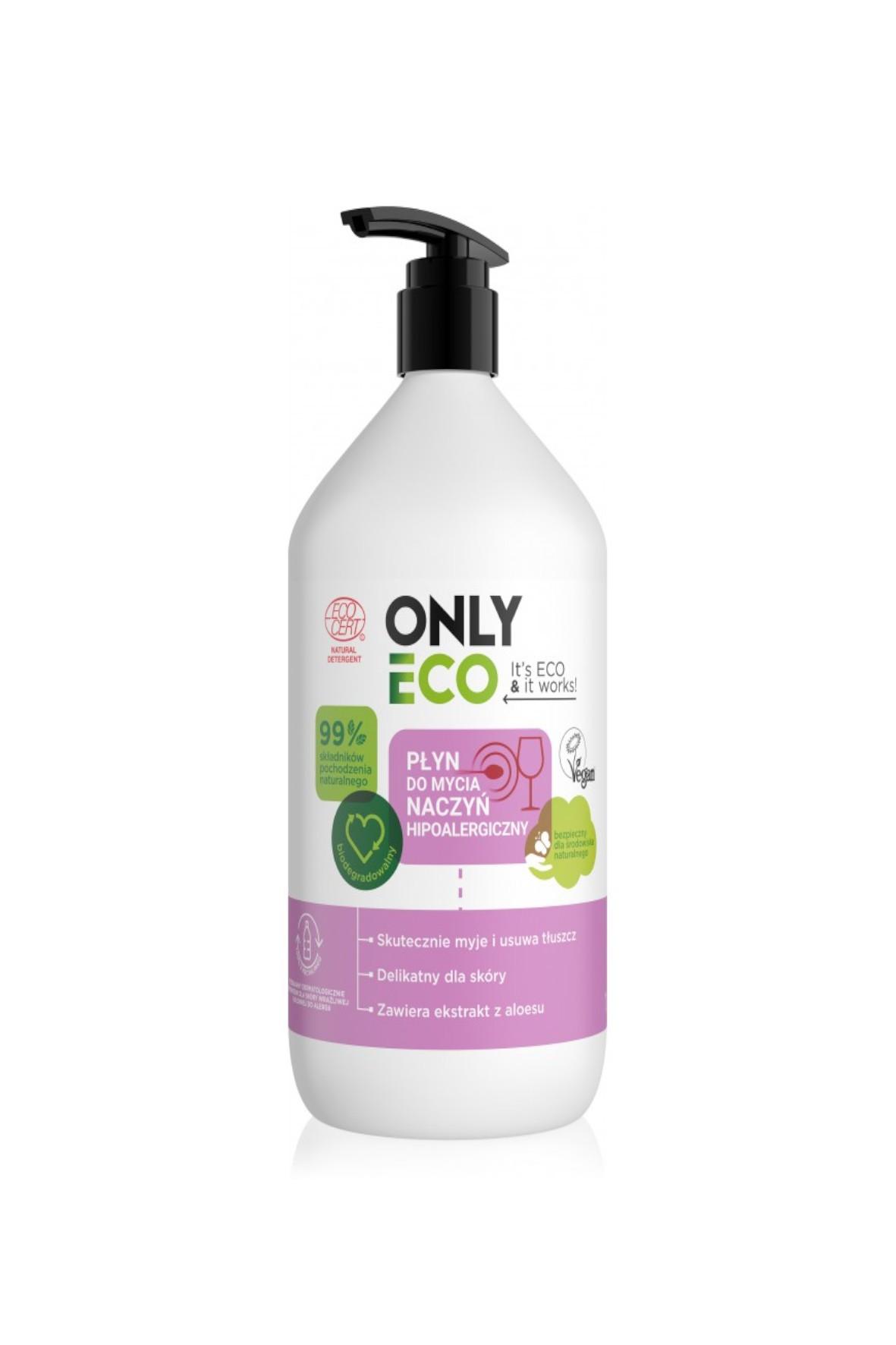 OnlyEco płyn do mycia naczyń hipoalergiczny 1000ml
