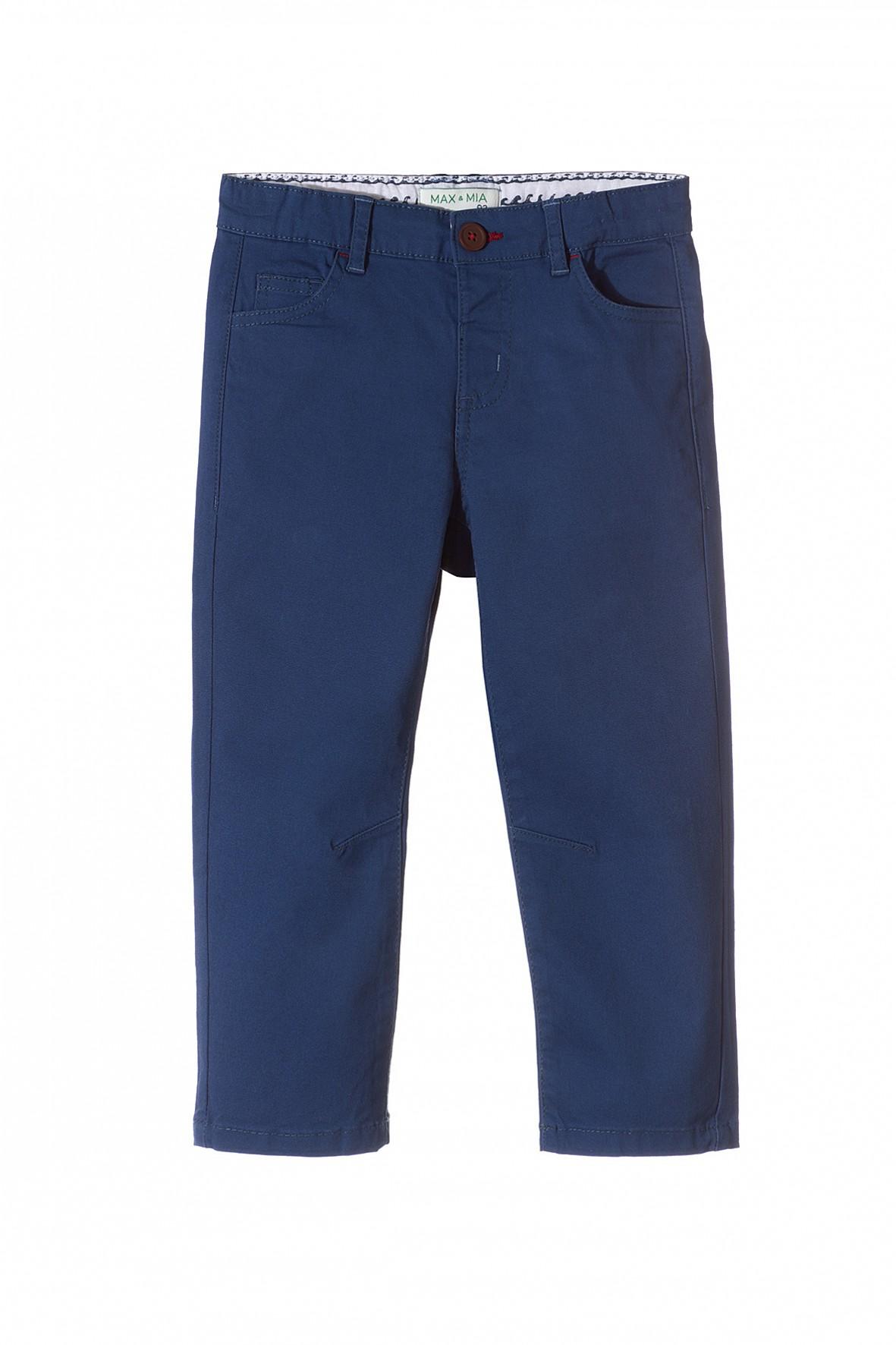 Spodnie chłopięce granatowe