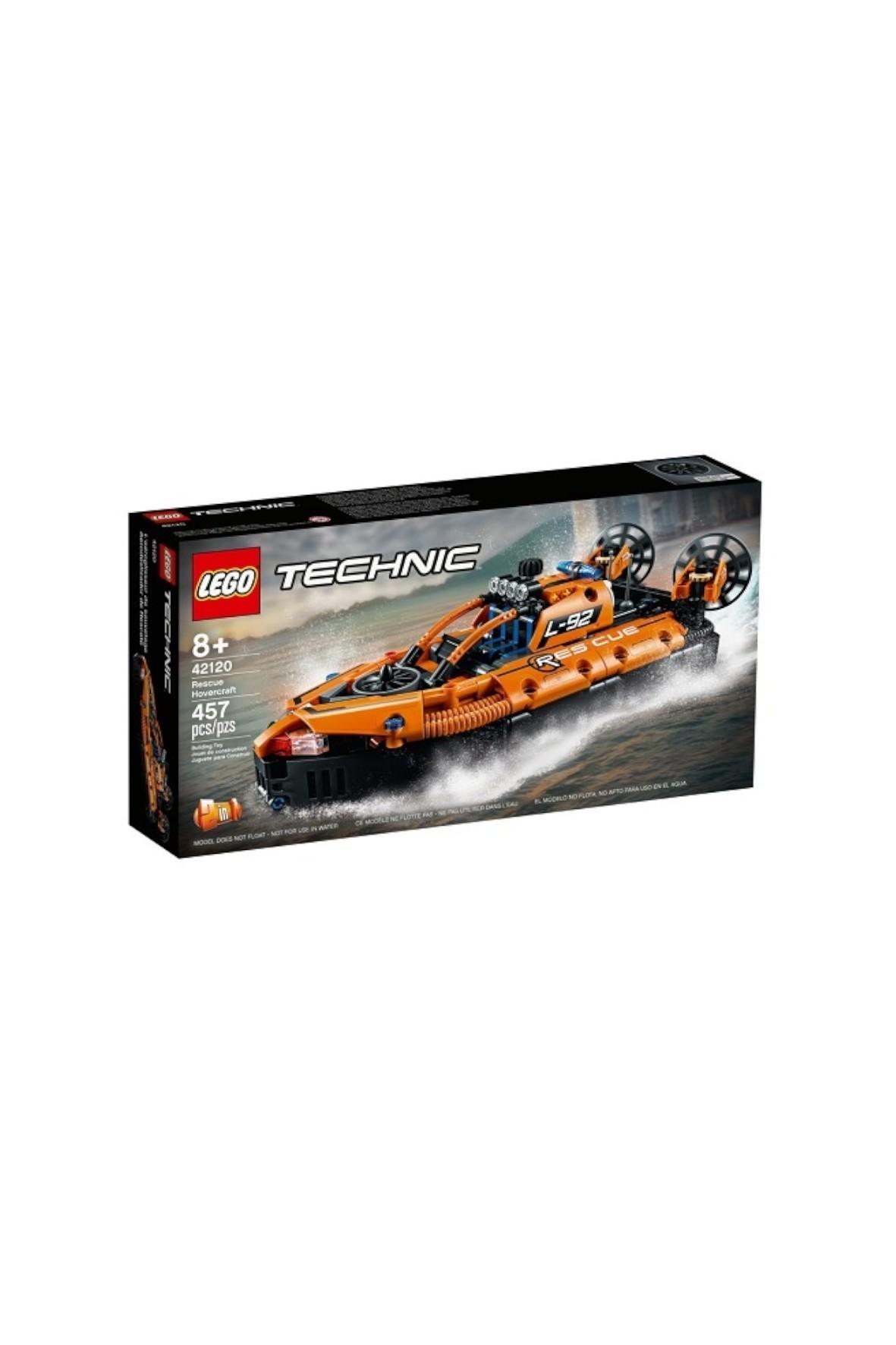 Klocki LEGO Technic - Poduszkowiec ratowniczy - 457 el wiek 8+