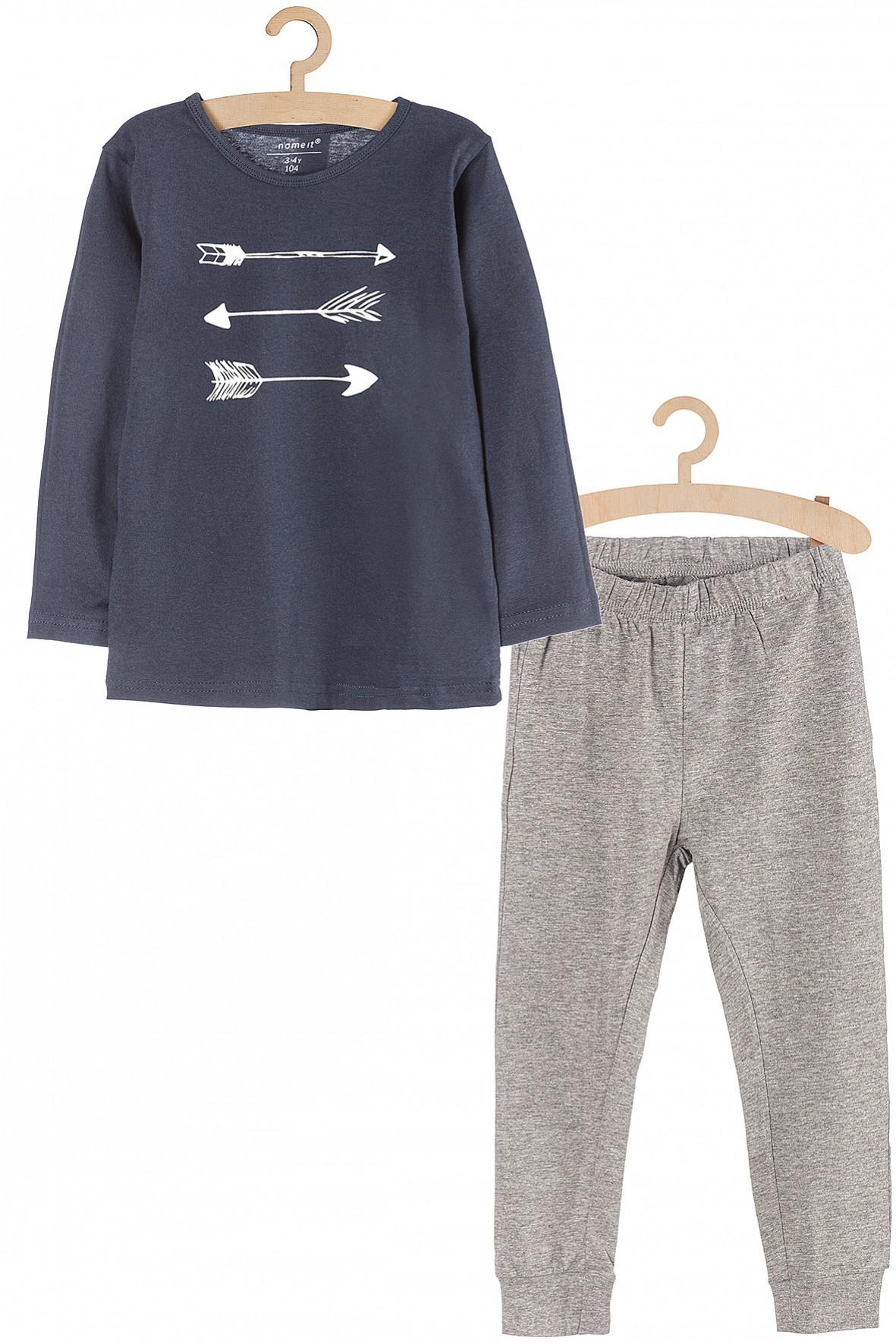 Piżama chłopięca- bluzka z długim rękawem i spodnie