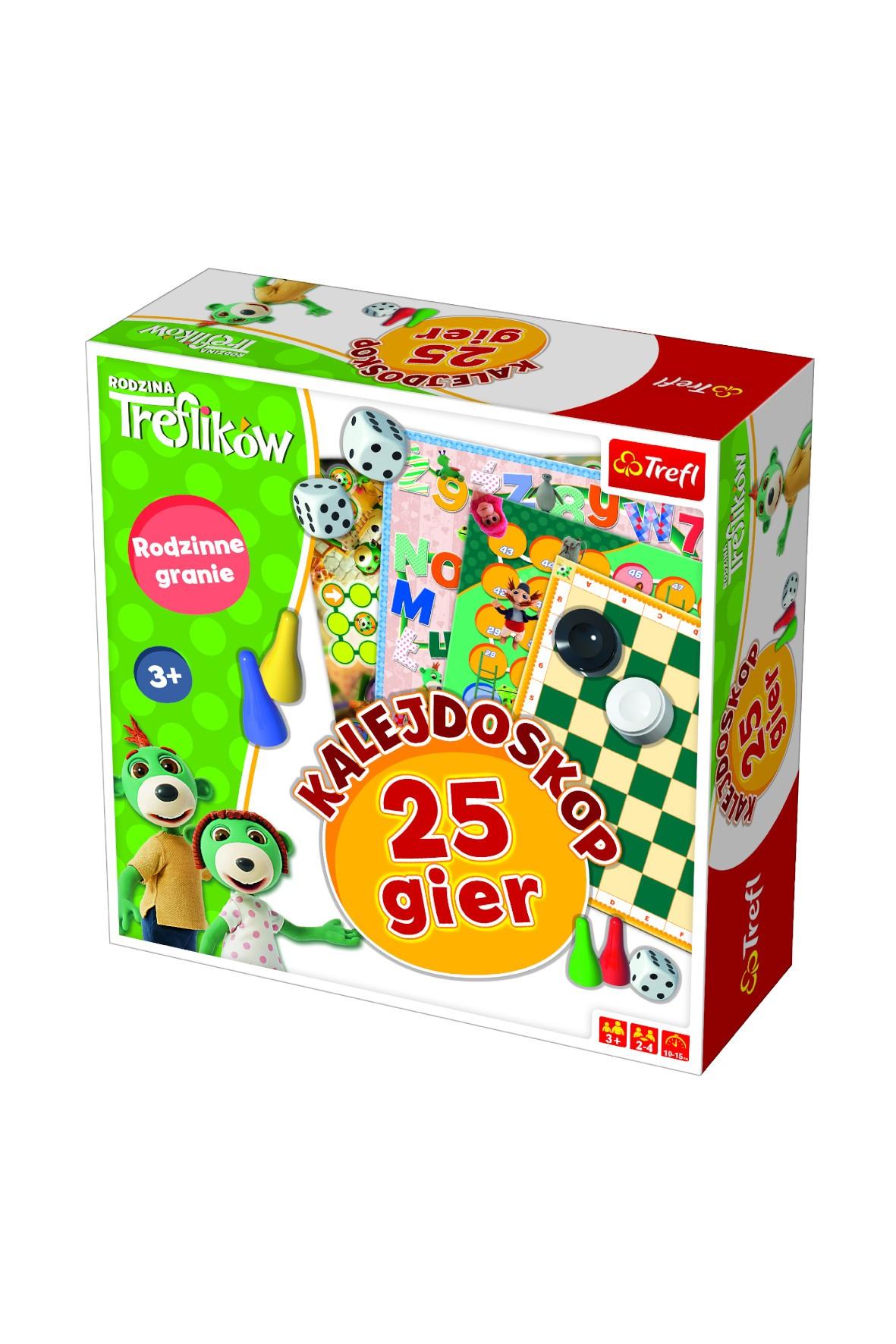 Kalejdoskop 25 gier Trefl