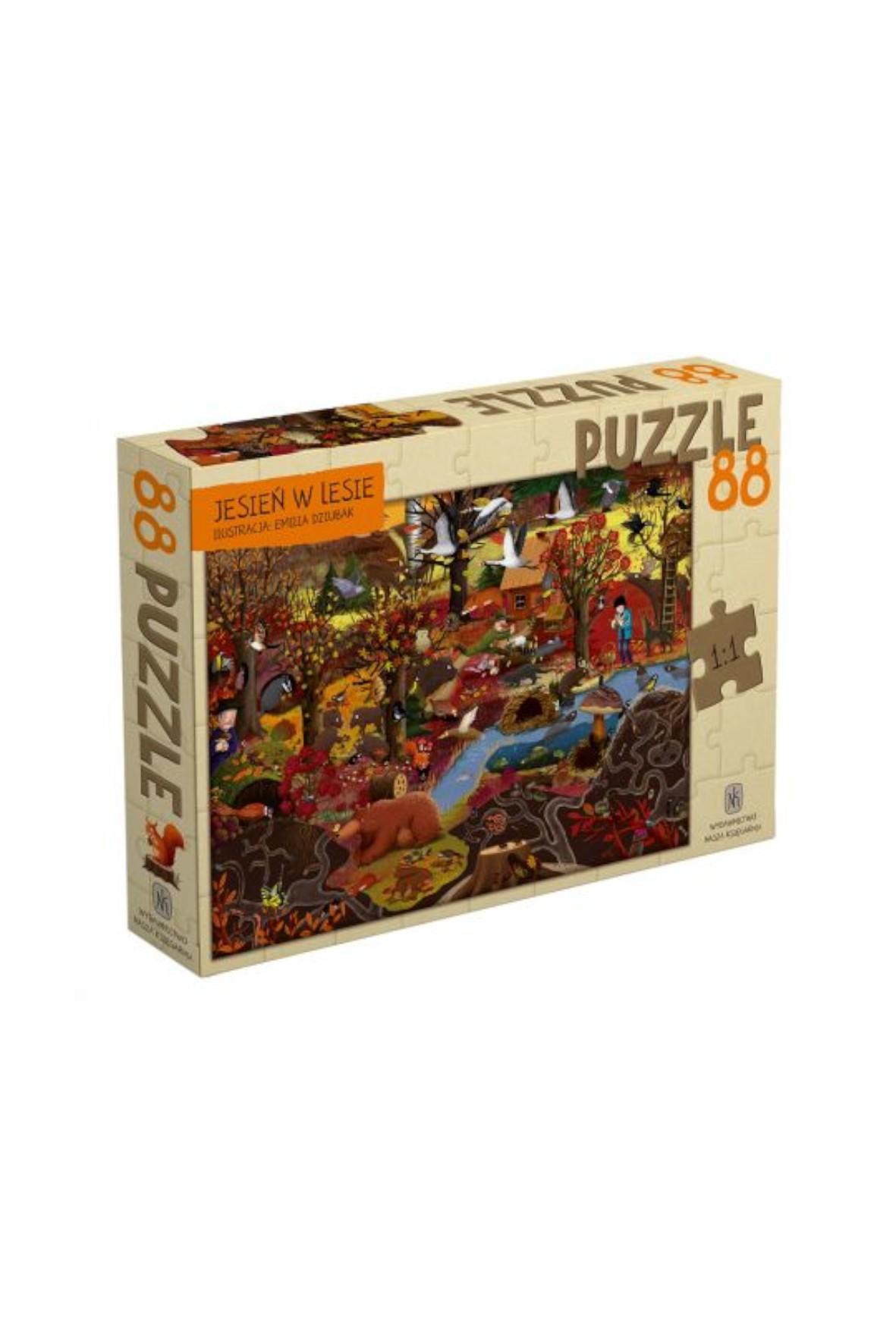 Puzzle - Jesień w lesie 88el