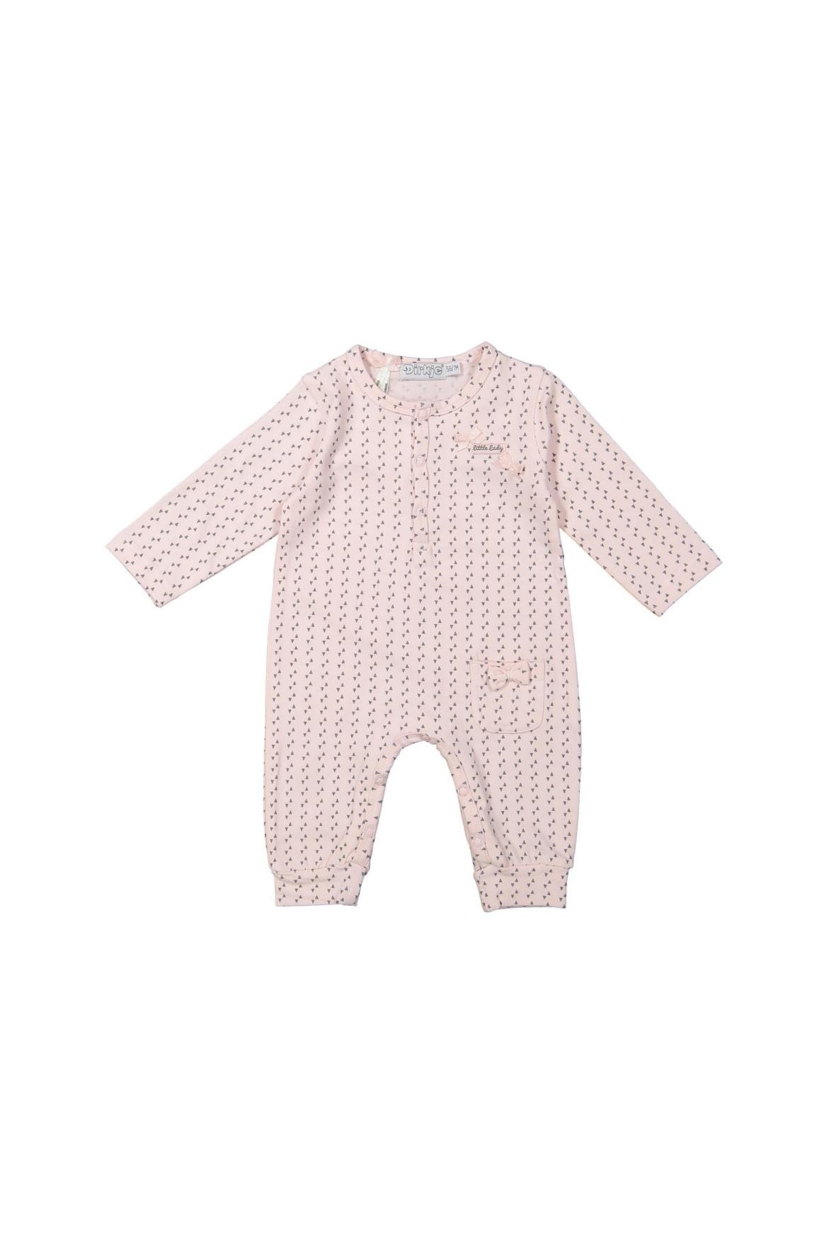 Pajac niemowlęcy różowy