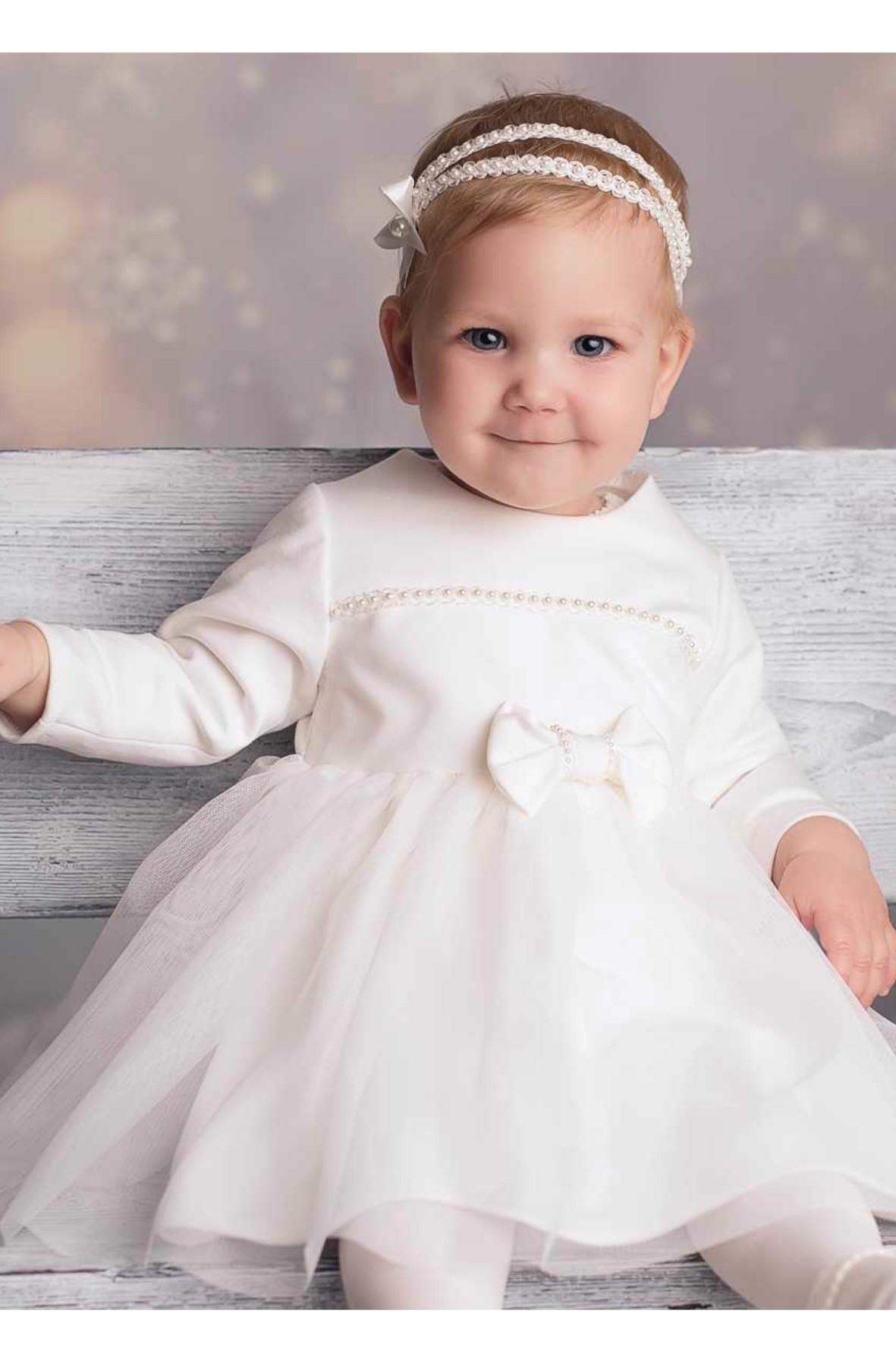 Sukienka niemowlęca do chrztu- Klara