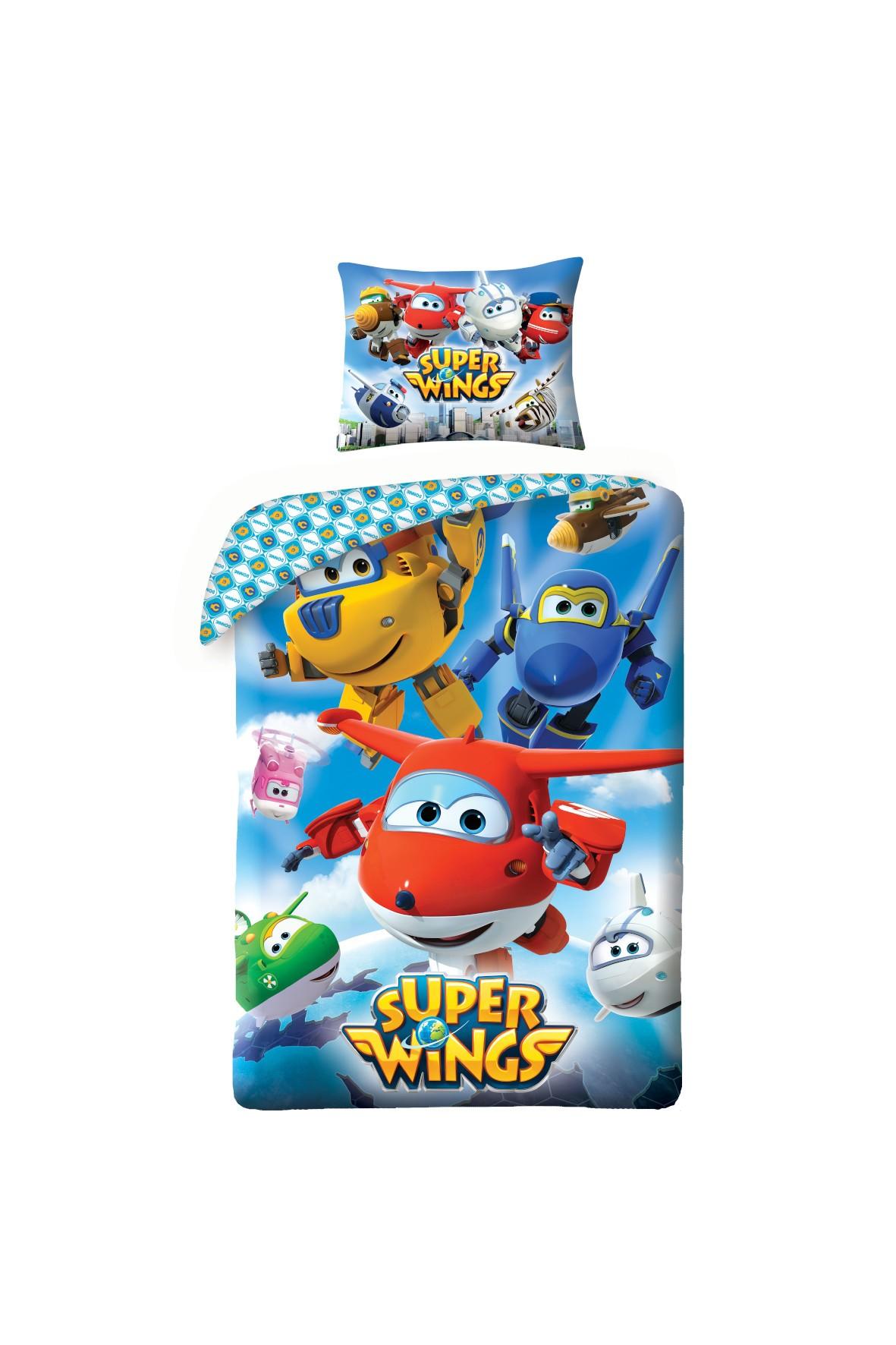 Komplet pościeli Super Wings