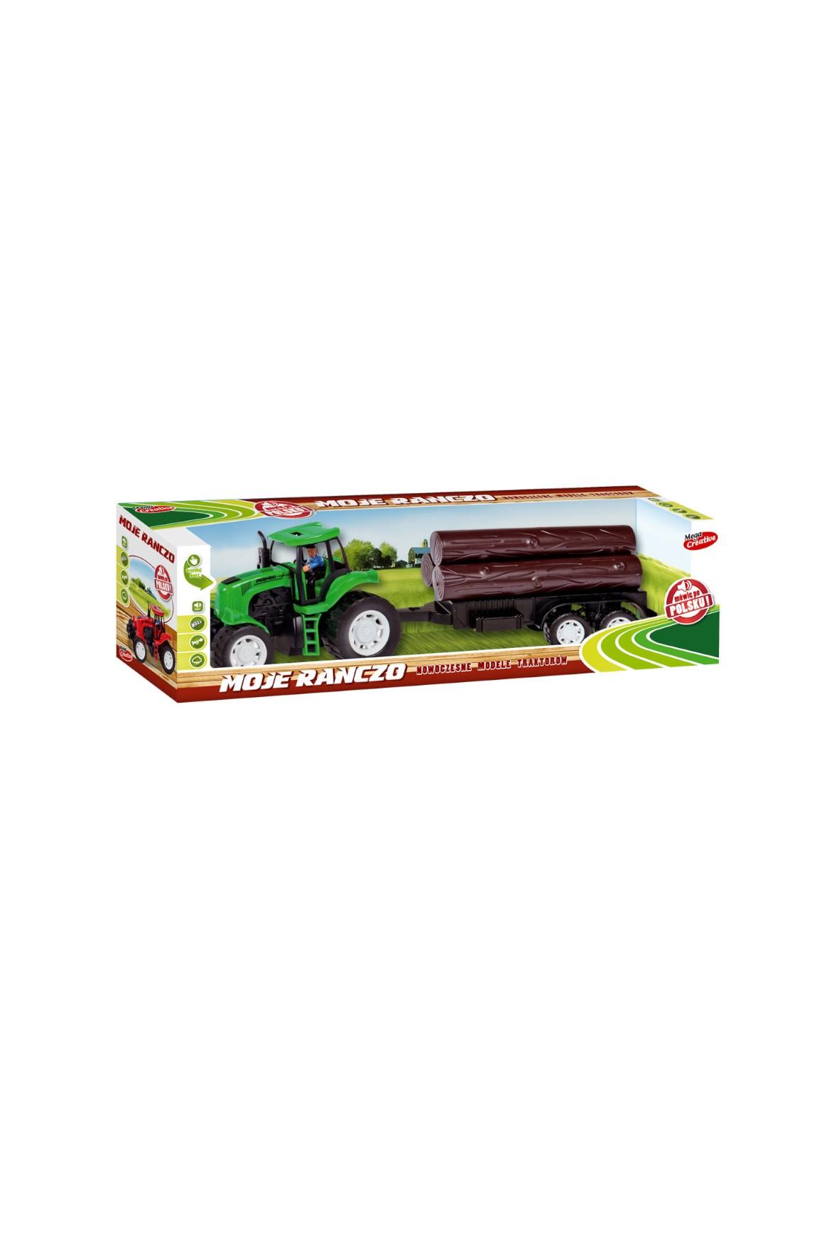 Traktor zabawka dla dziecka 48cm